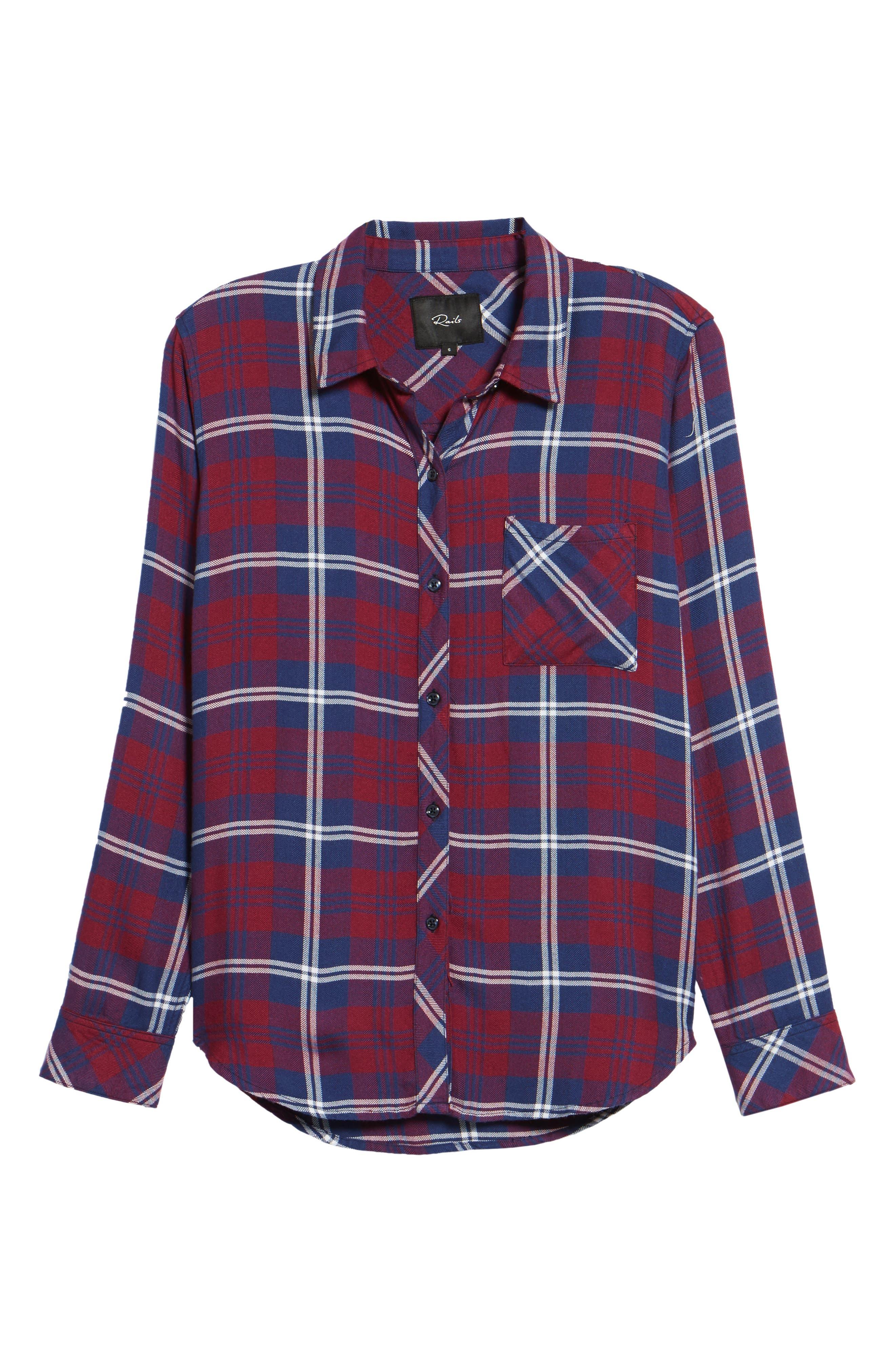 Hunter Plaid Shirt,                             Alternate thumbnail 714, color,