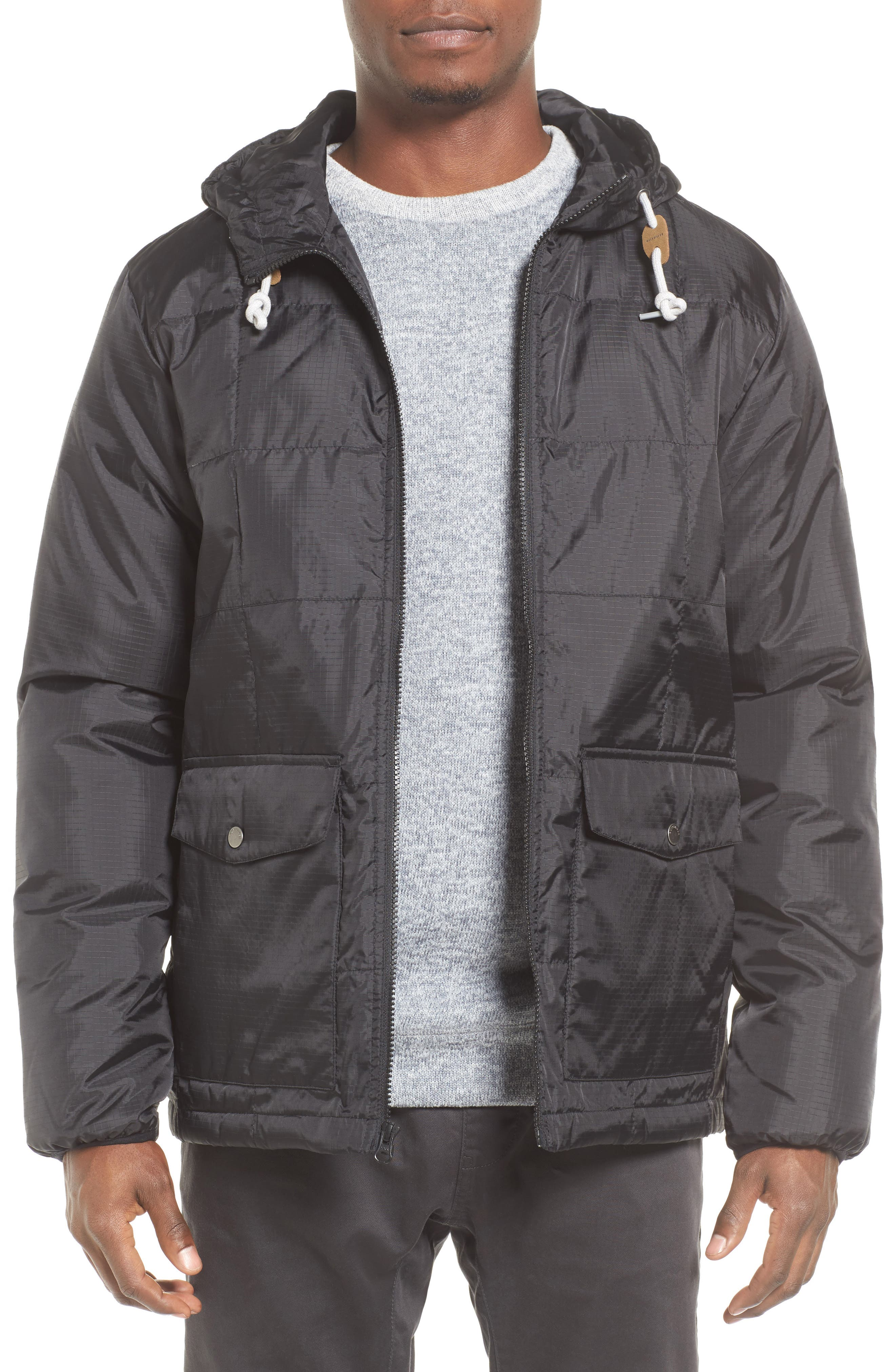 Puffer Water-Repellent Jacket,                             Main thumbnail 1, color,                             002