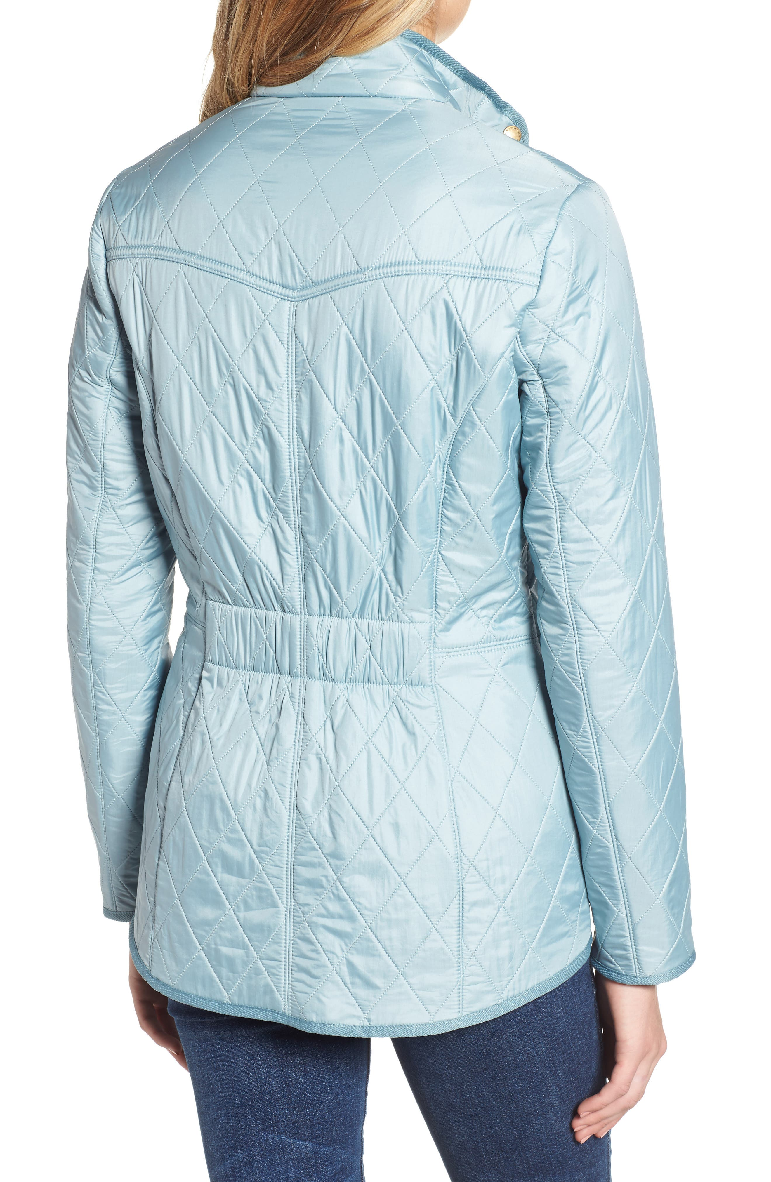 'Cavalry' Quilted Jacket,                             Alternate thumbnail 17, color,