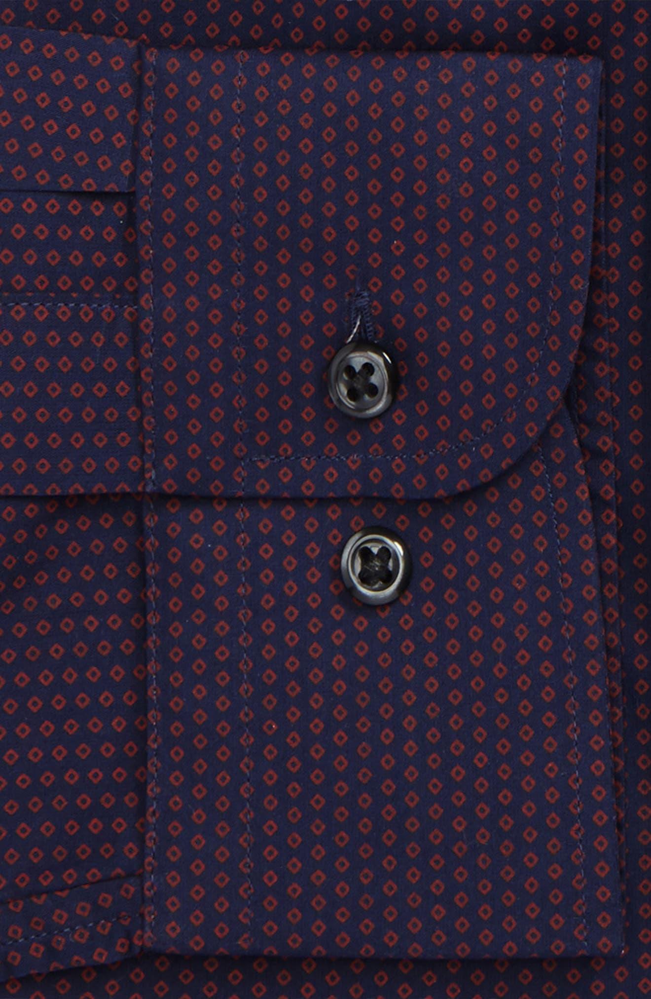 Extra Trim Fit Dress Shirt,                             Alternate thumbnail 2, color,                             601