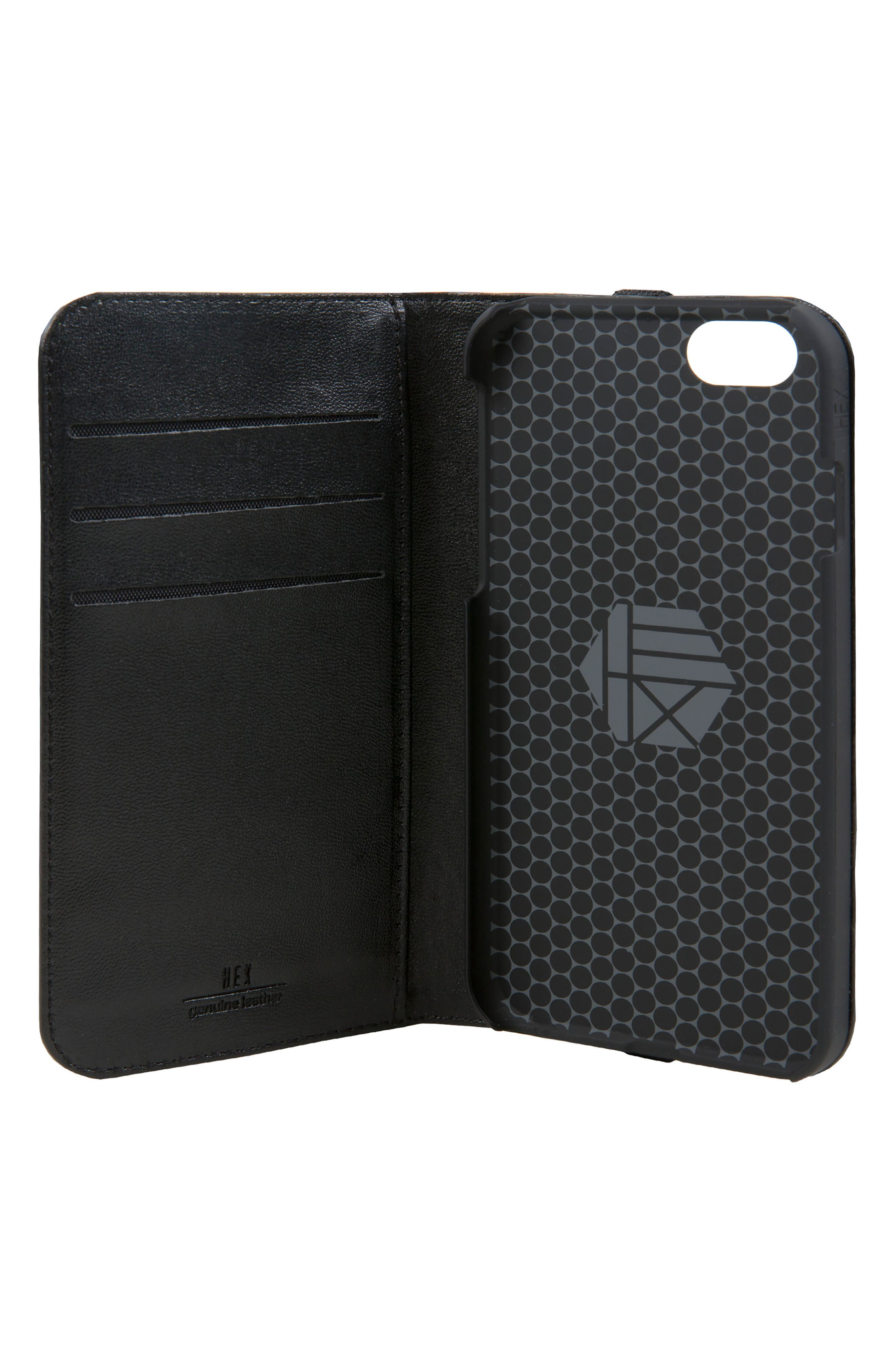 Icon iPhone 6/6s/7/8 Wallet Case,                             Alternate thumbnail 4, color,                             004