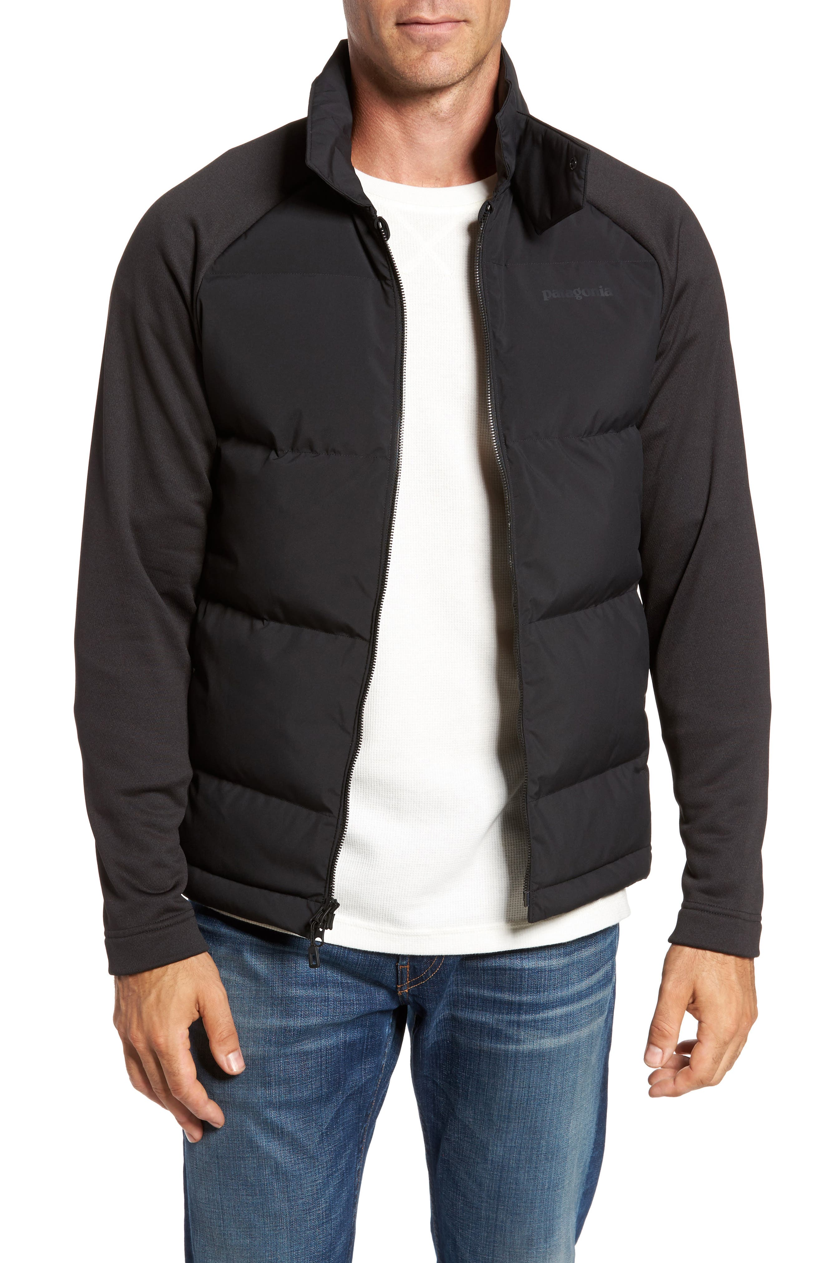 Ukiah Hybrid Recycled Down Jacket,                         Main,                         color,