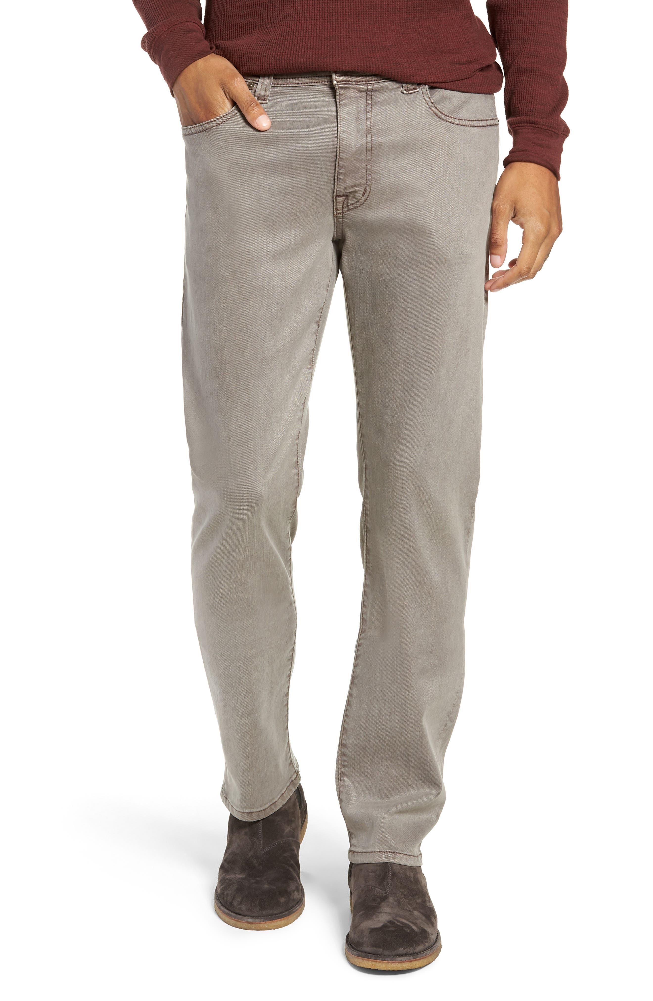 Jimmy Slim Straight Leg Twill Pants,                         Main,                         color, 200