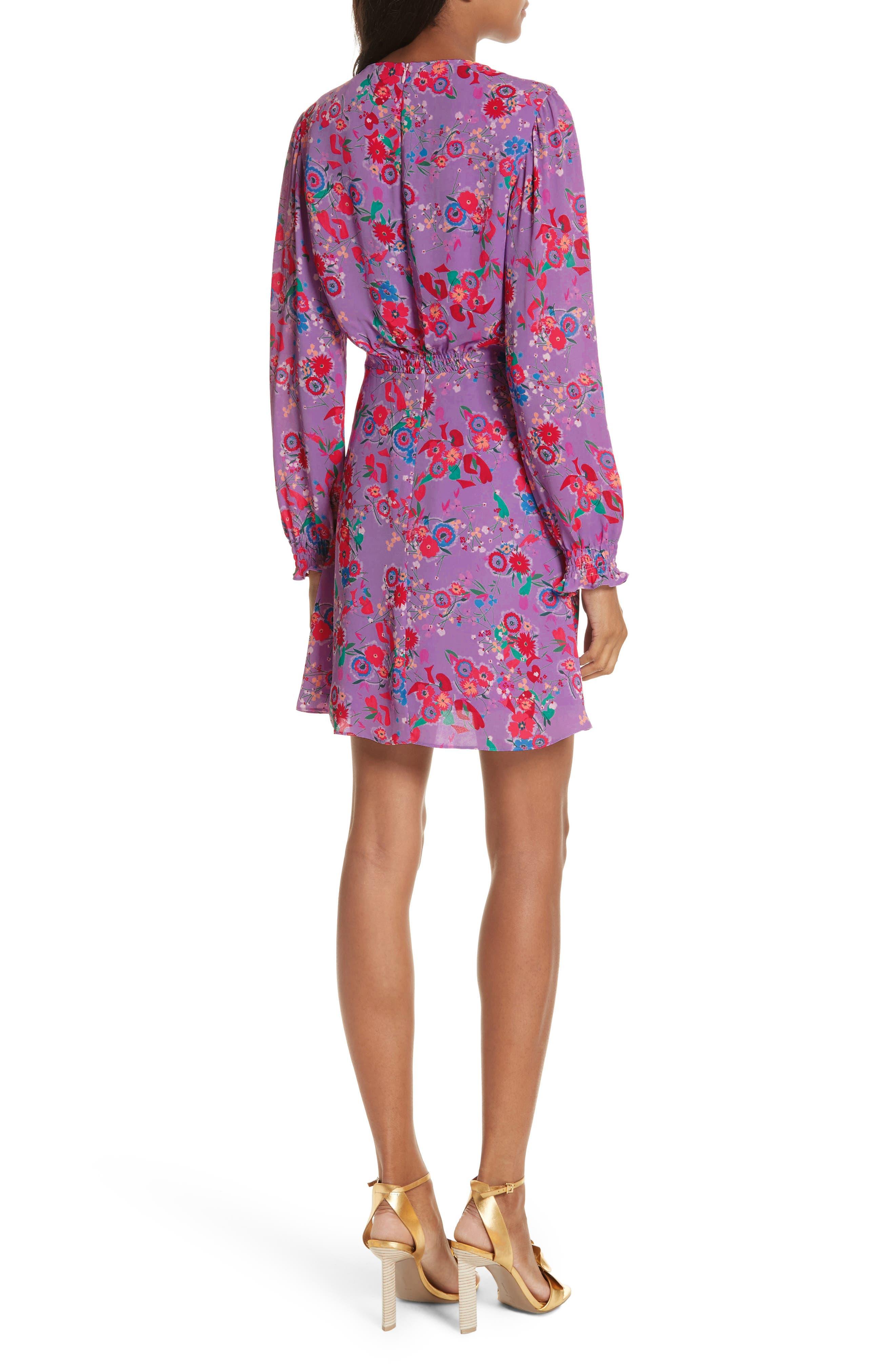 Eve Floral Print Dress,                             Alternate thumbnail 2, color,                             531