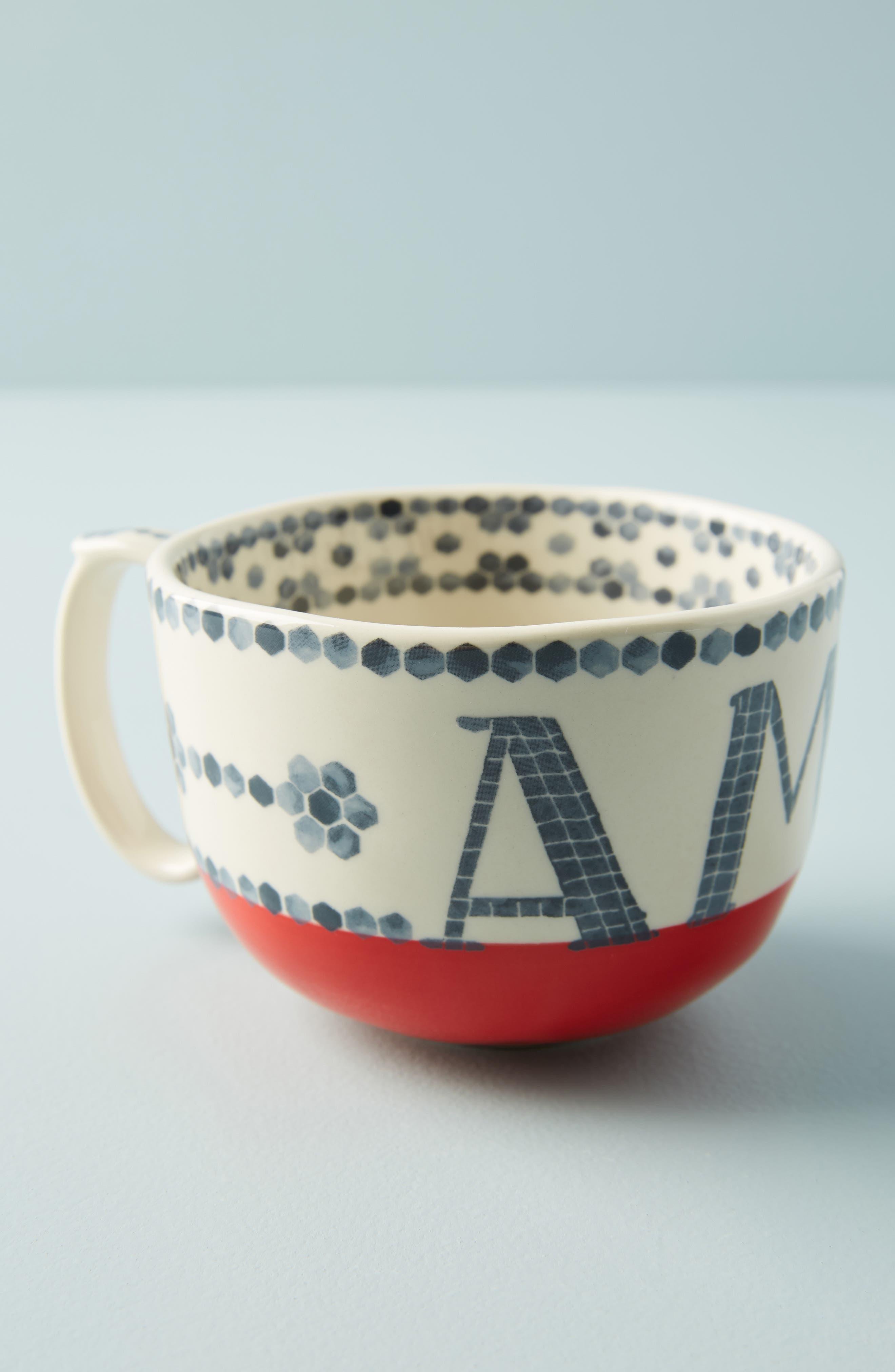 anthropologie valerie mug