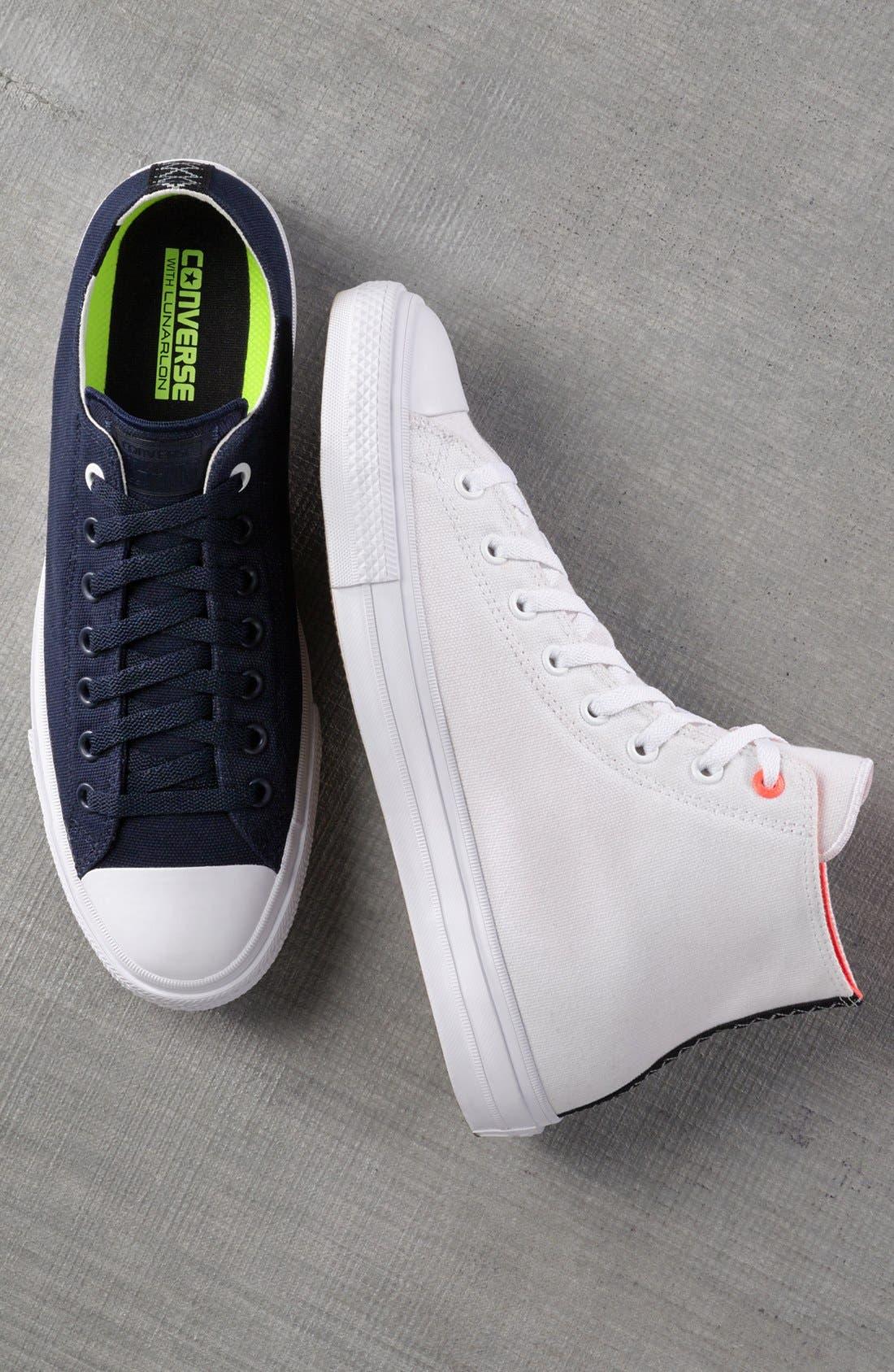 Chuck Taylor<sup>®</sup> All Star<sup>®</sup> II 'Shield' Water Repellent High Top Sneaker,                             Main thumbnail 1, color,                             003