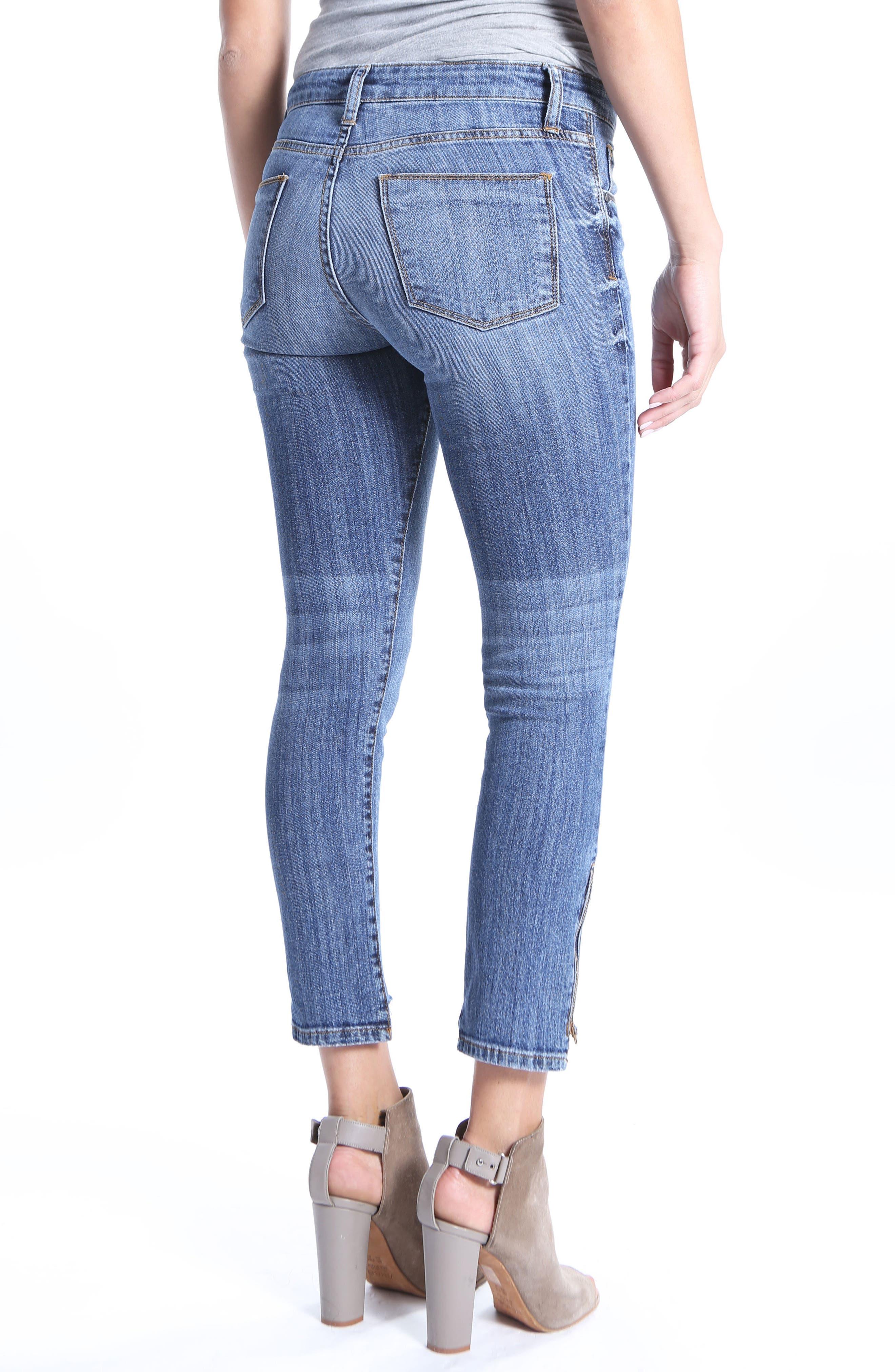 Reese Step Hem Ankle Jeans,                             Alternate thumbnail 2, color,                             466