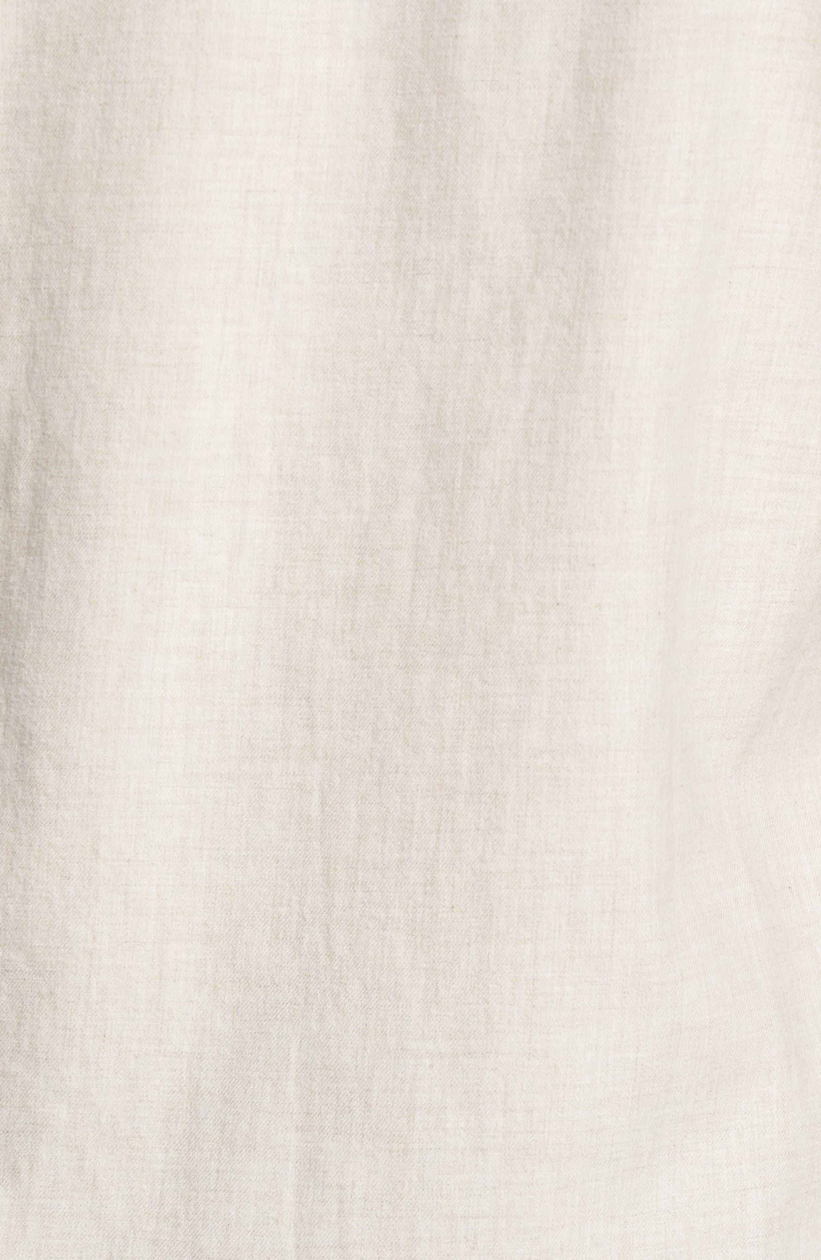 Slim Fit Brushed Twill Sport Shirt,                             Alternate thumbnail 5, color,