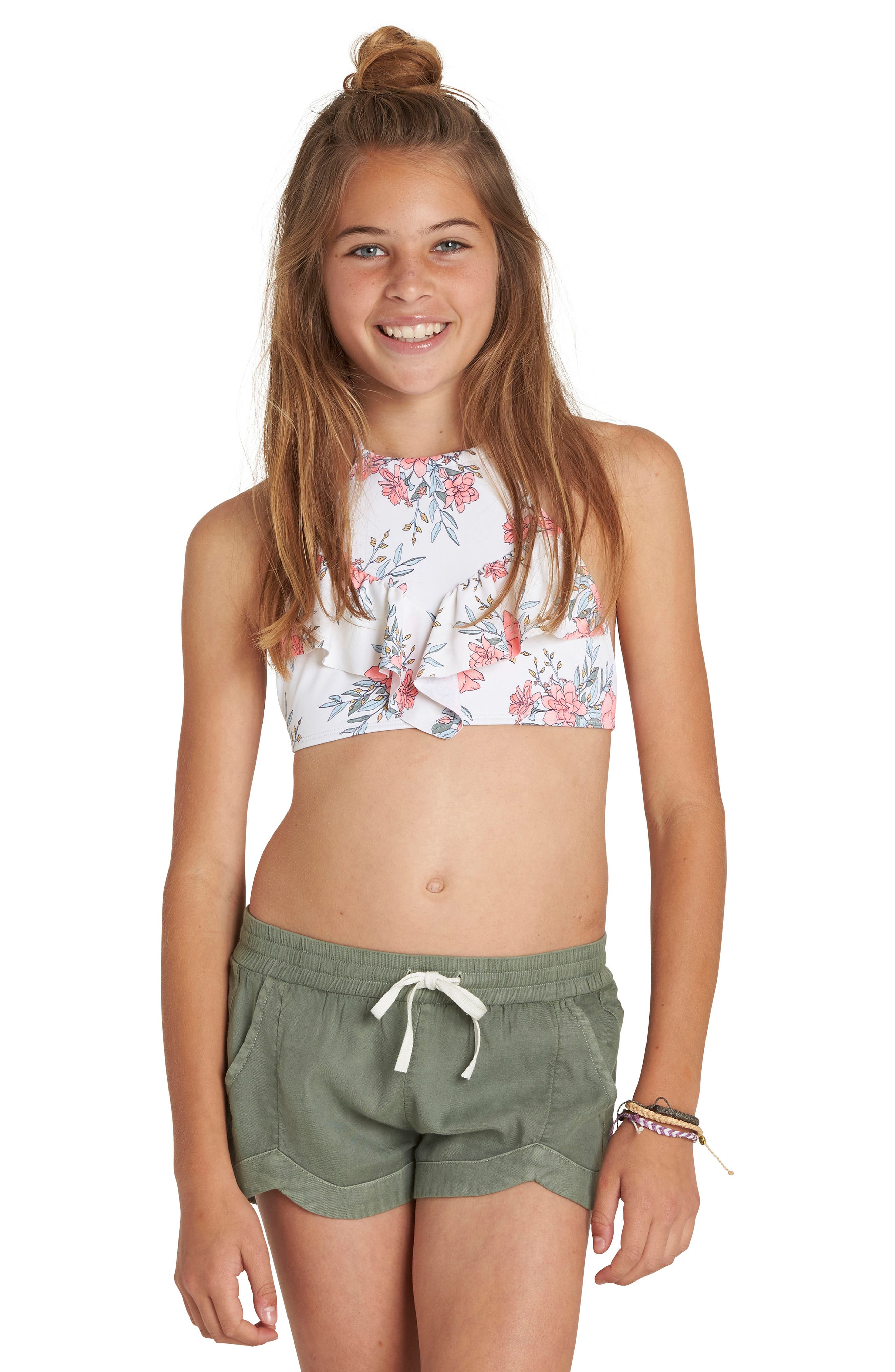 Made For You Woven Shorts,                             Main thumbnail 1, color,                             TREETOP