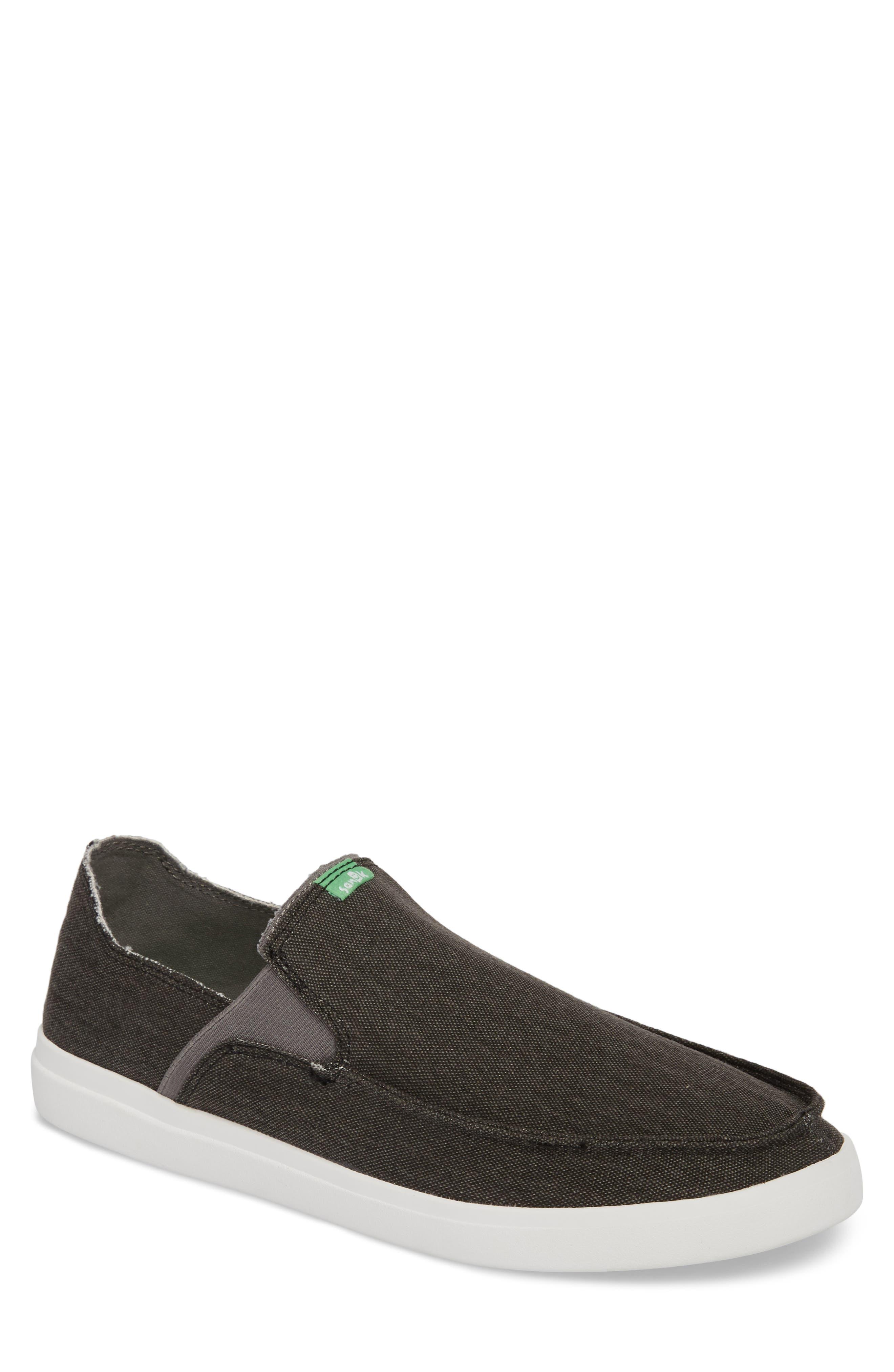 Pickpocket Slip-On Sneaker,                             Main thumbnail 1, color,                             BLACK