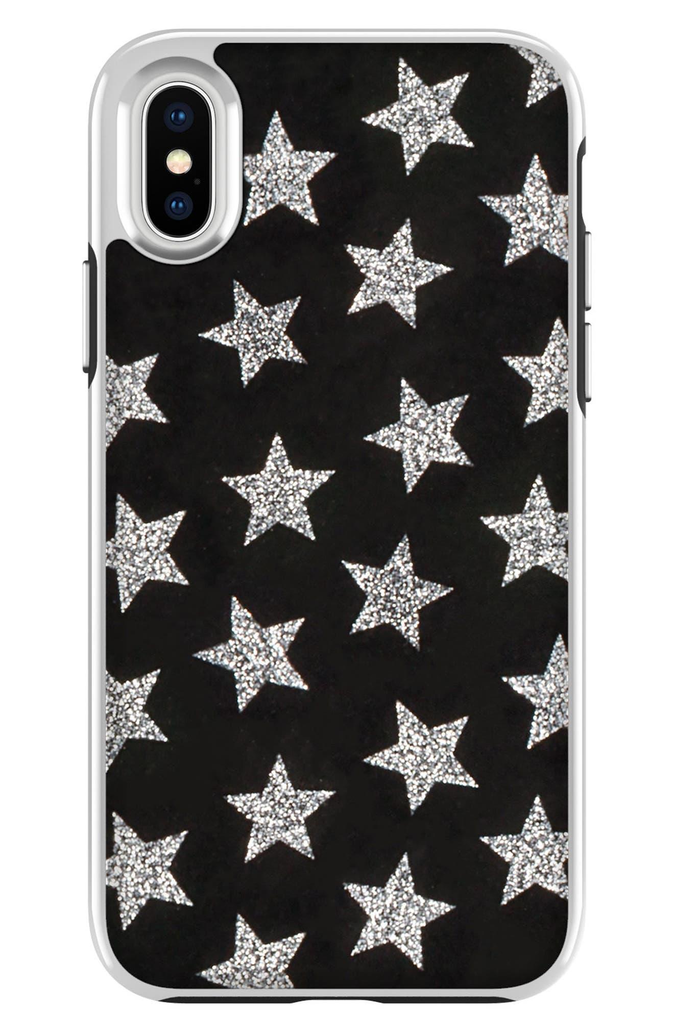 Glitterfall iPhone 8 Plus Case,                         Main,                         color,