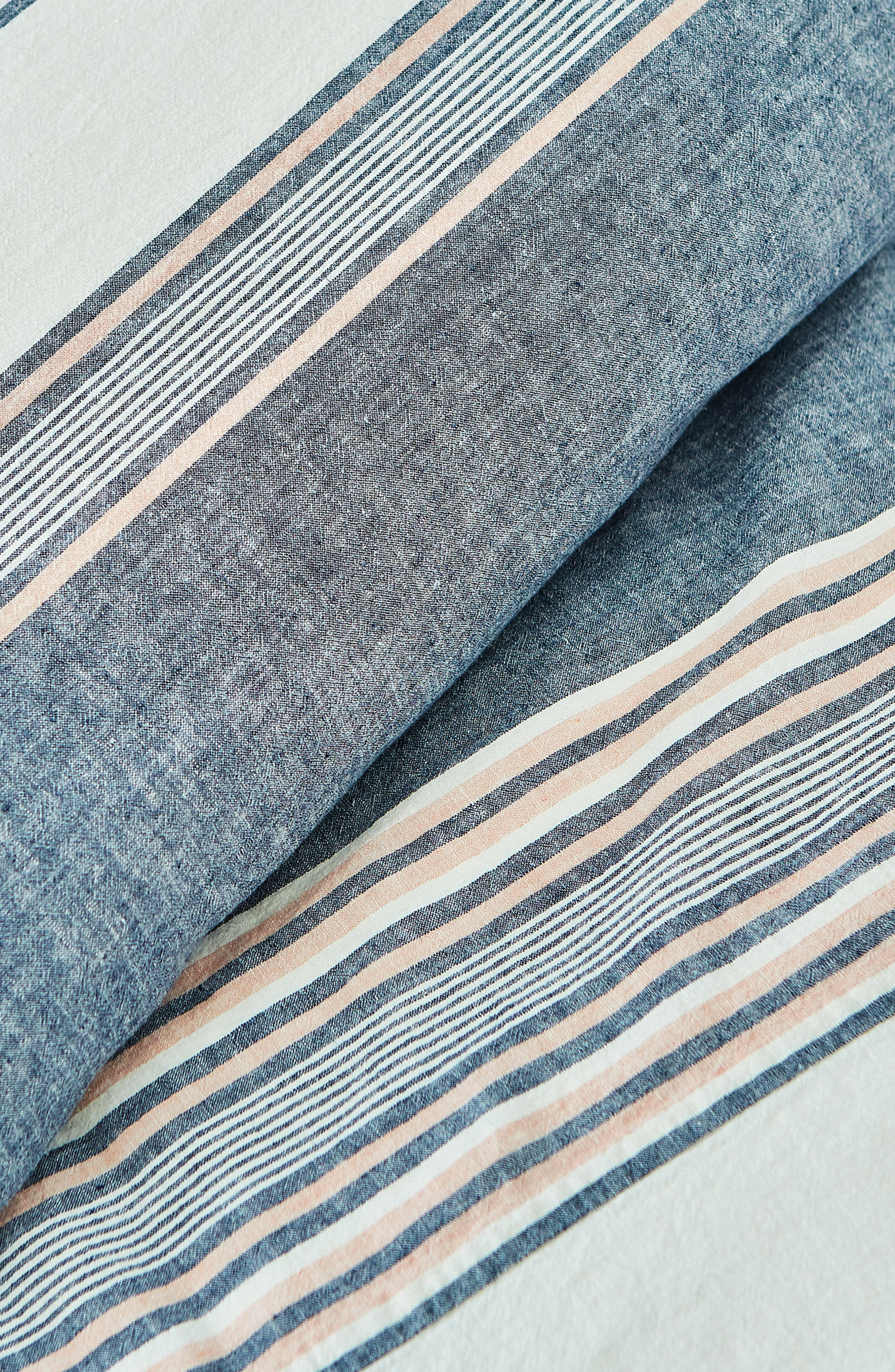 Tuscan Stripe Duvet Cover & Sham Set,                             Alternate thumbnail 2, color,