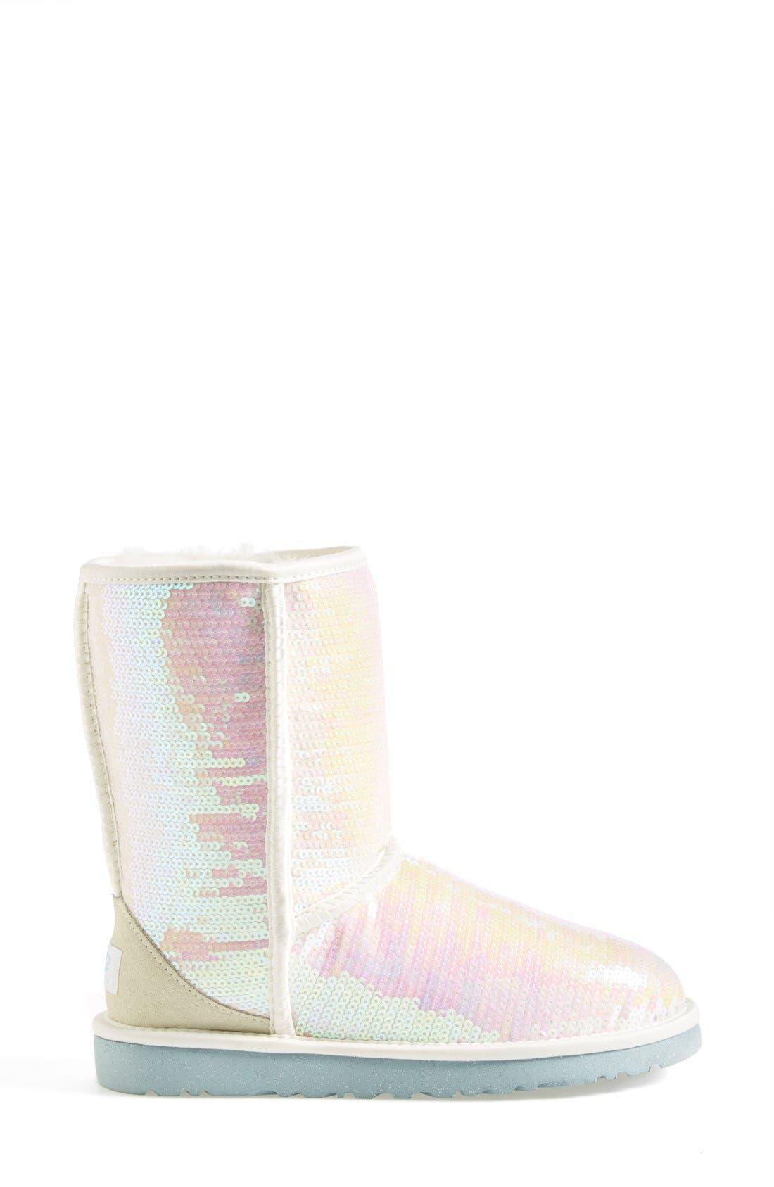 Australia 'Classic Short Sparkles - I Do' Boot,                             Alternate thumbnail 4, color,                             100