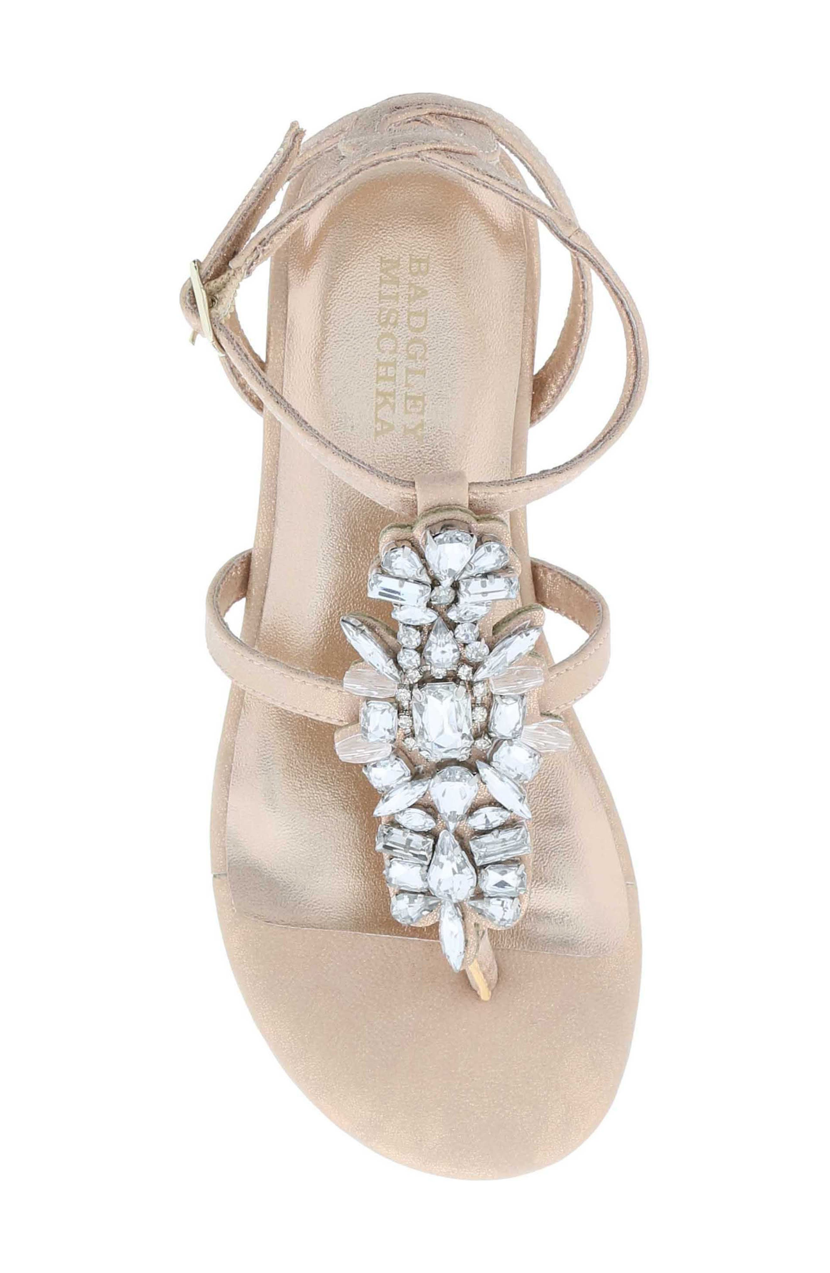 Cara Barstow Embellished Sandal,                             Alternate thumbnail 10, color,