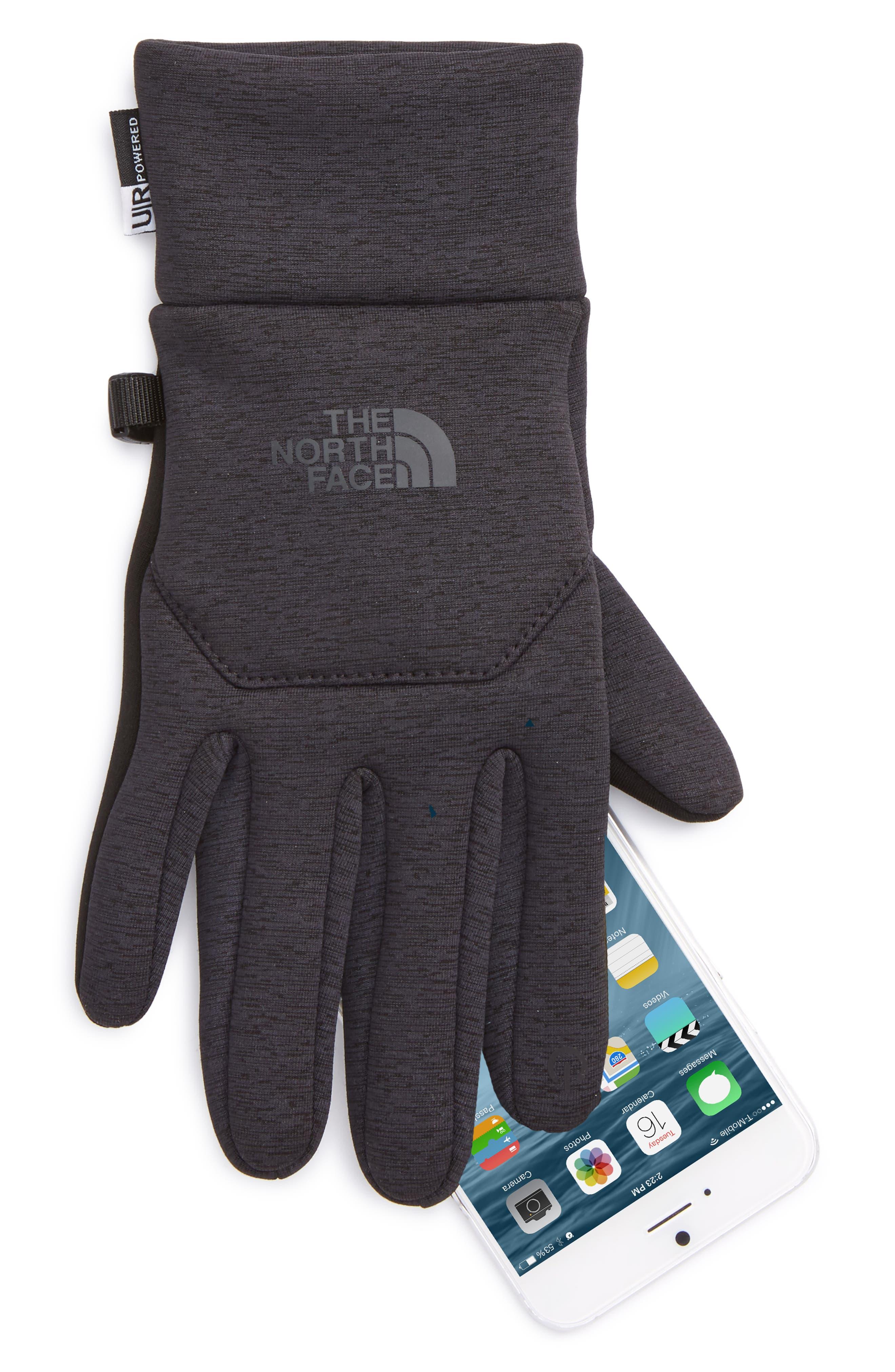 'E-Tip' Fleece Tech Gloves,                             Alternate thumbnail 2, color,                             002