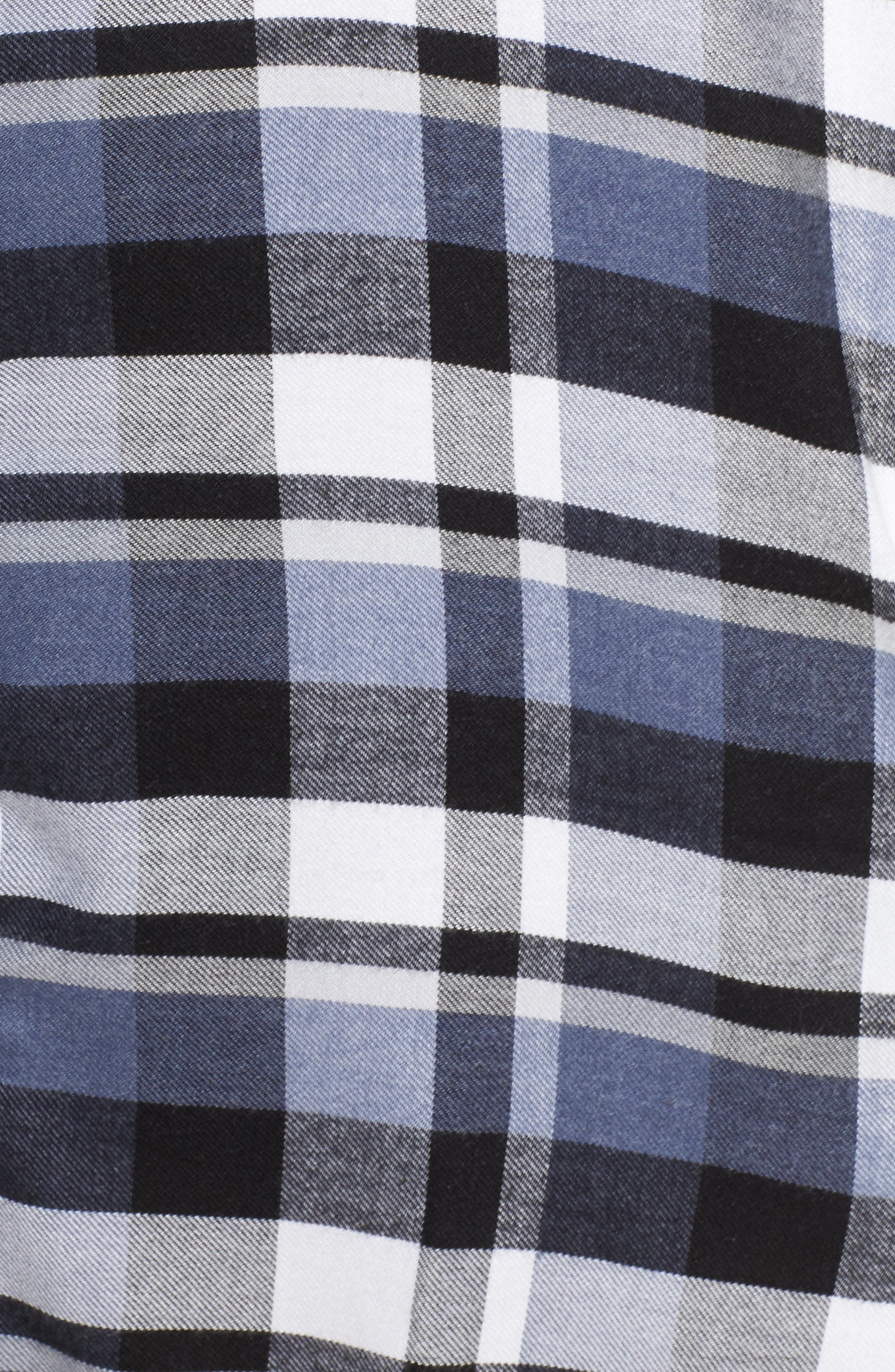 Plaid Sleep Shirt,                             Alternate thumbnail 5, color,                             400