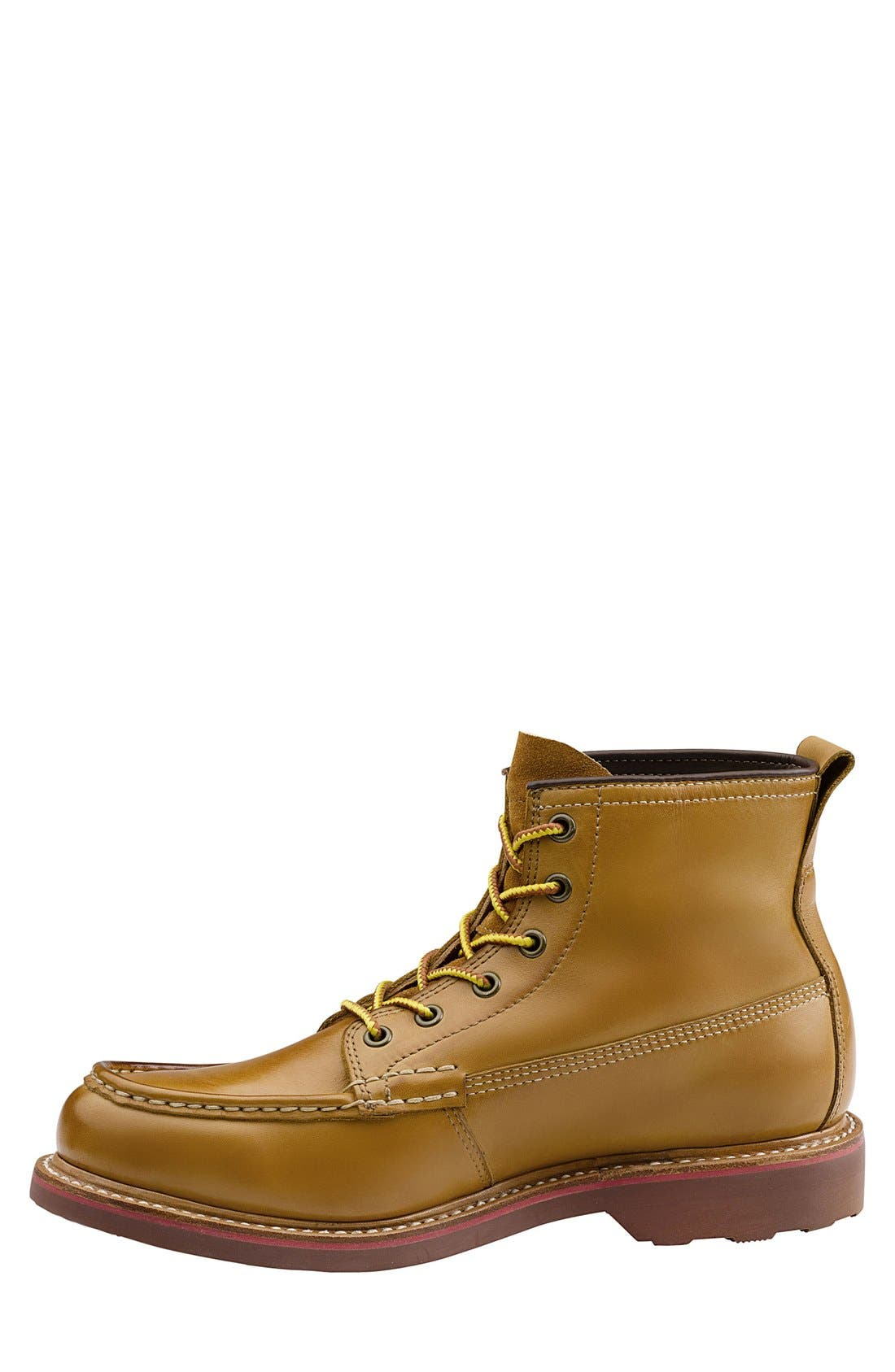'Ashby' Moc Toe Boot,                             Alternate thumbnail 6, color,