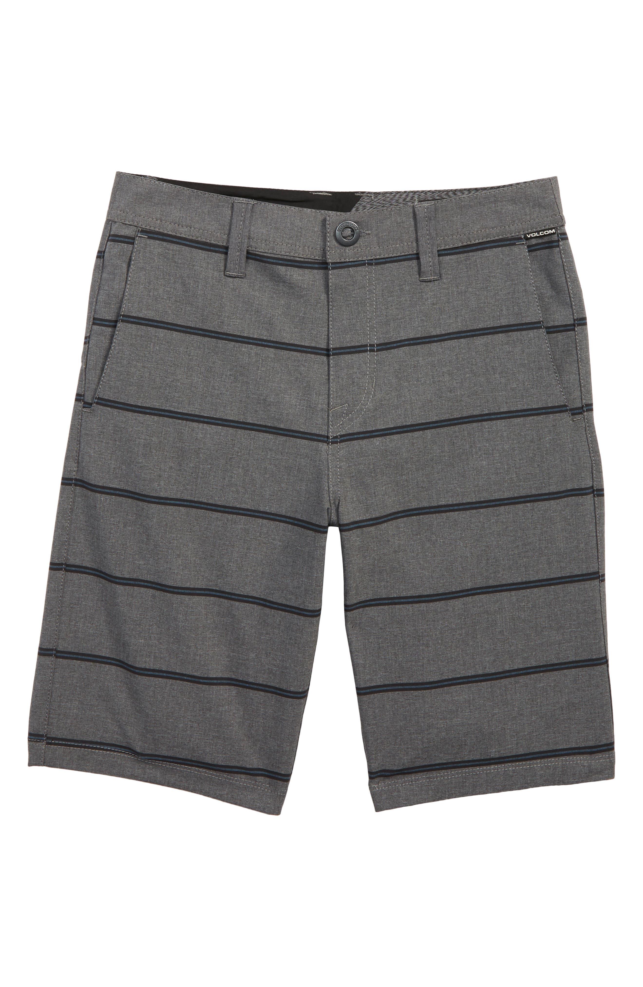 Frickin Surf N' Turf Mix Hybrid Shorts,                             Main thumbnail 1, color,                             GREY METAL