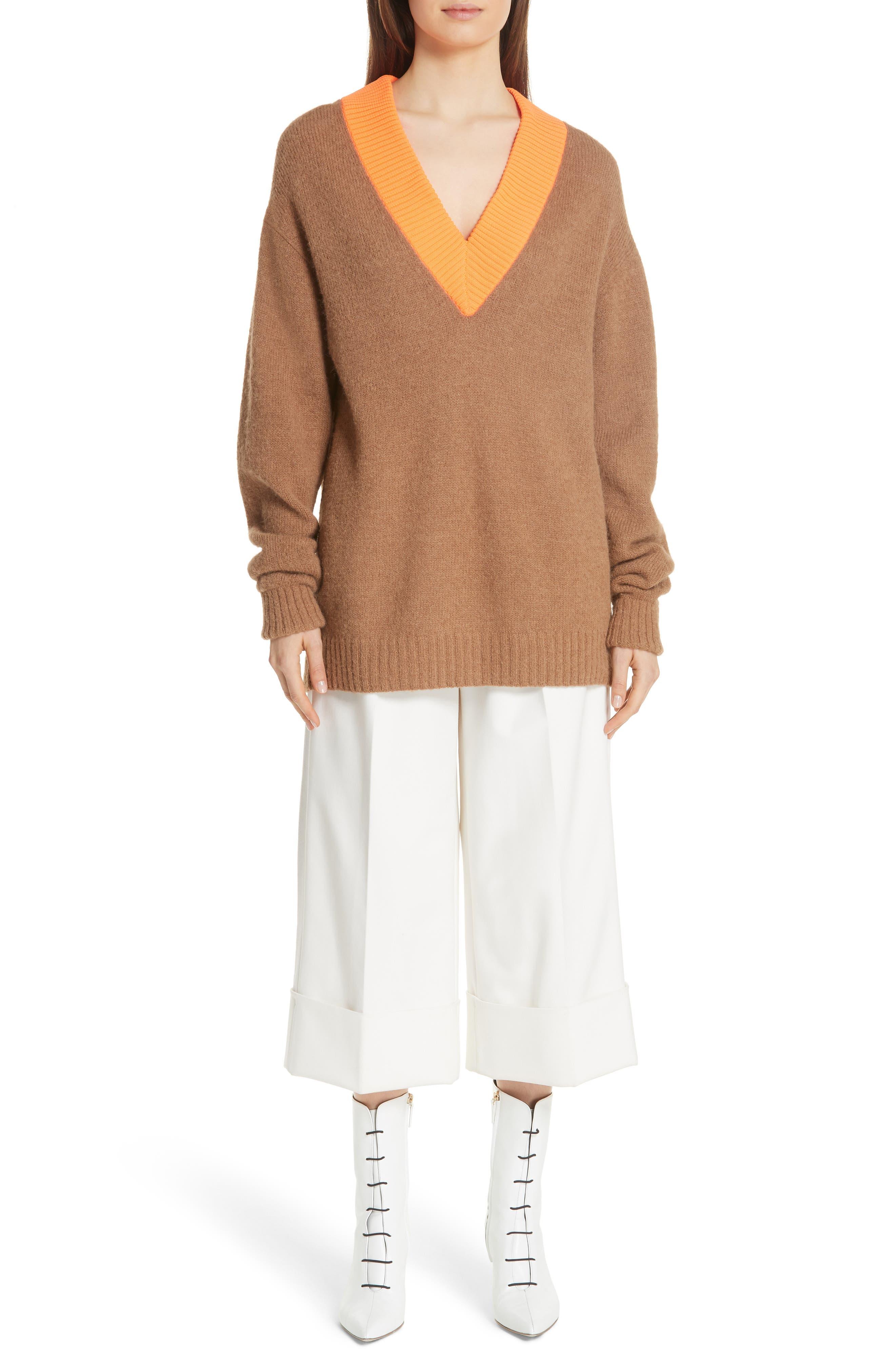 Airy Alpaca Blend Sweater,                             Alternate thumbnail 7, color,                             205
