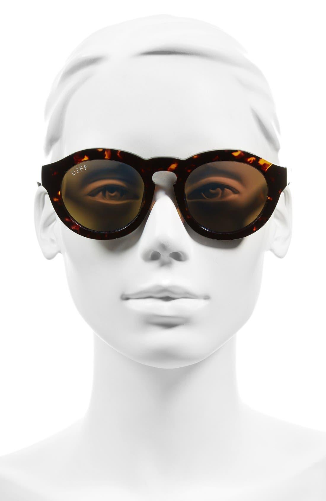 Dime 48mm Retro Sunglasses,                             Alternate thumbnail 26, color,