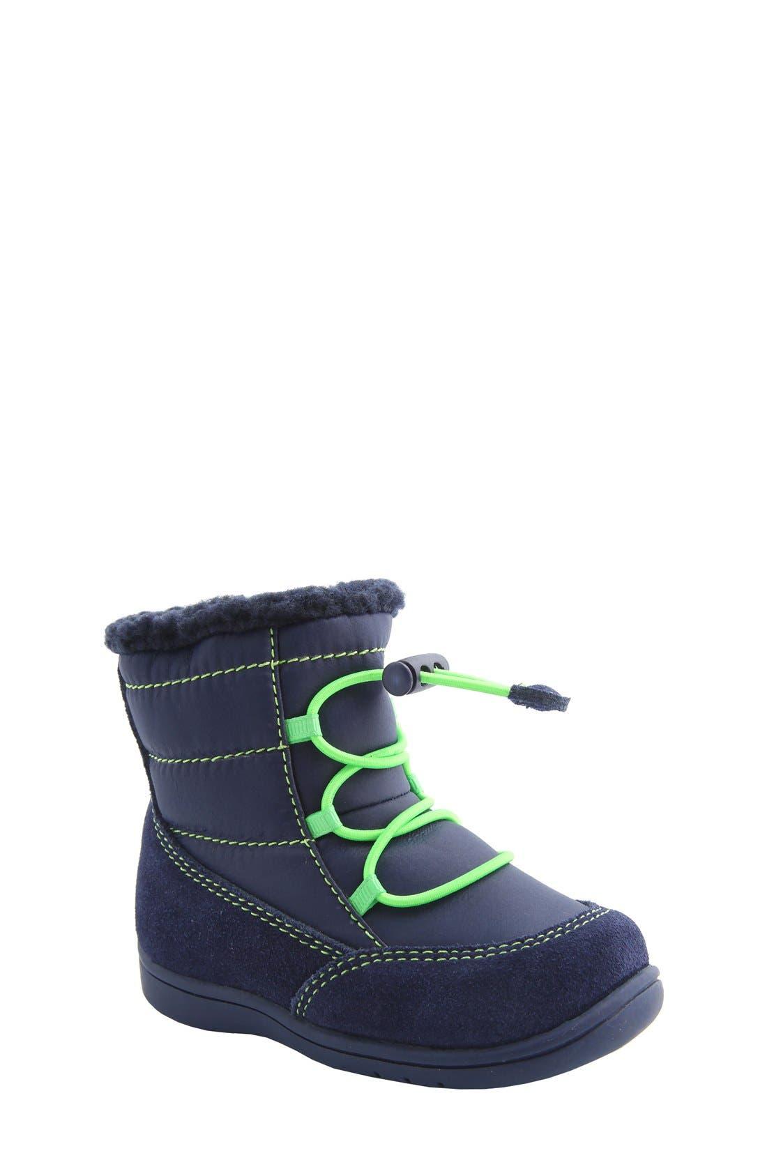 Nina 'Yolie' Lace-Up Boot,                             Main thumbnail 3, color,
