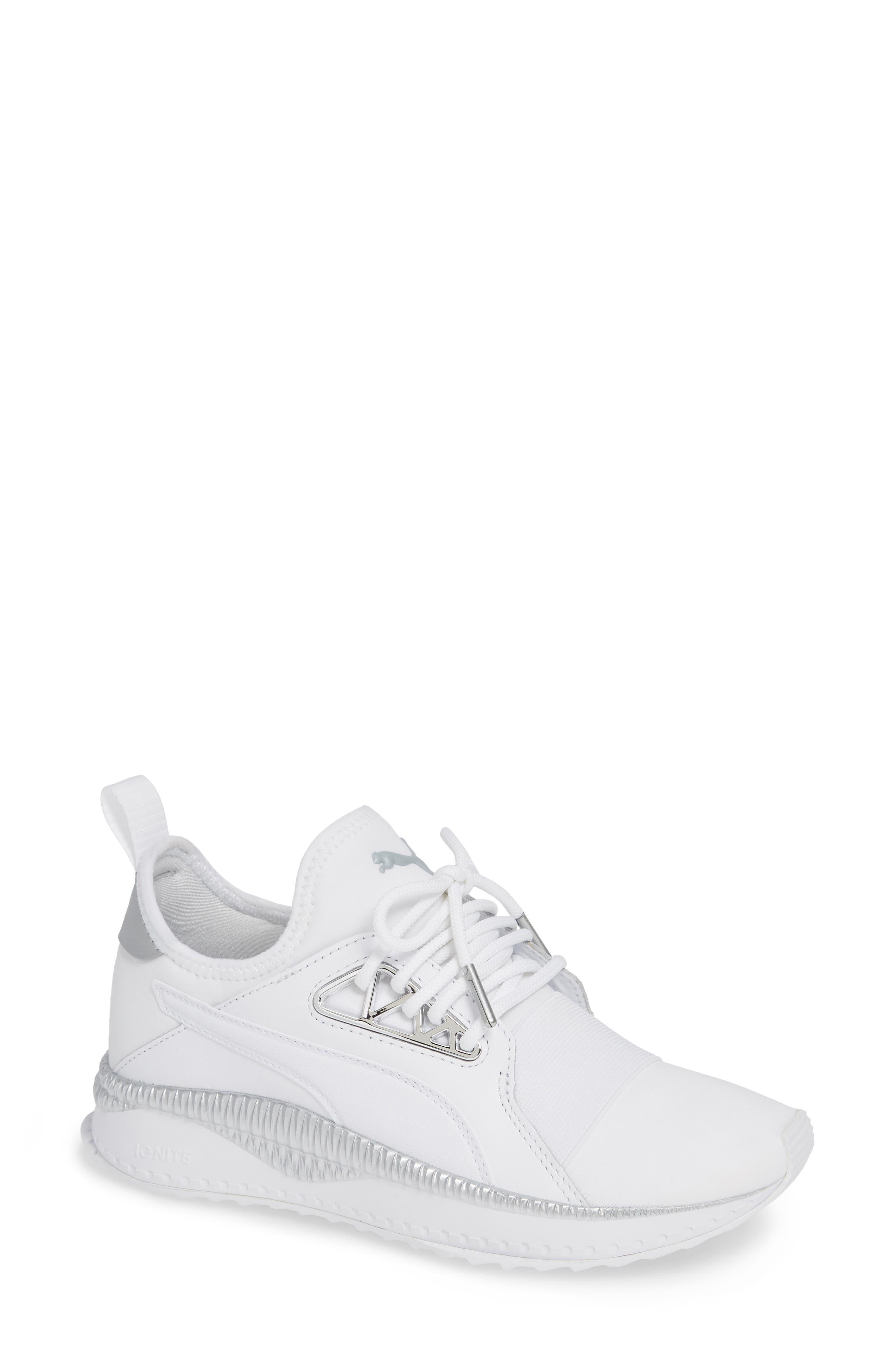 TSUGI Apex Jewel Sneaker,                             Main thumbnail 1, color,                             PUMA WHITE/ PUMA WHITE