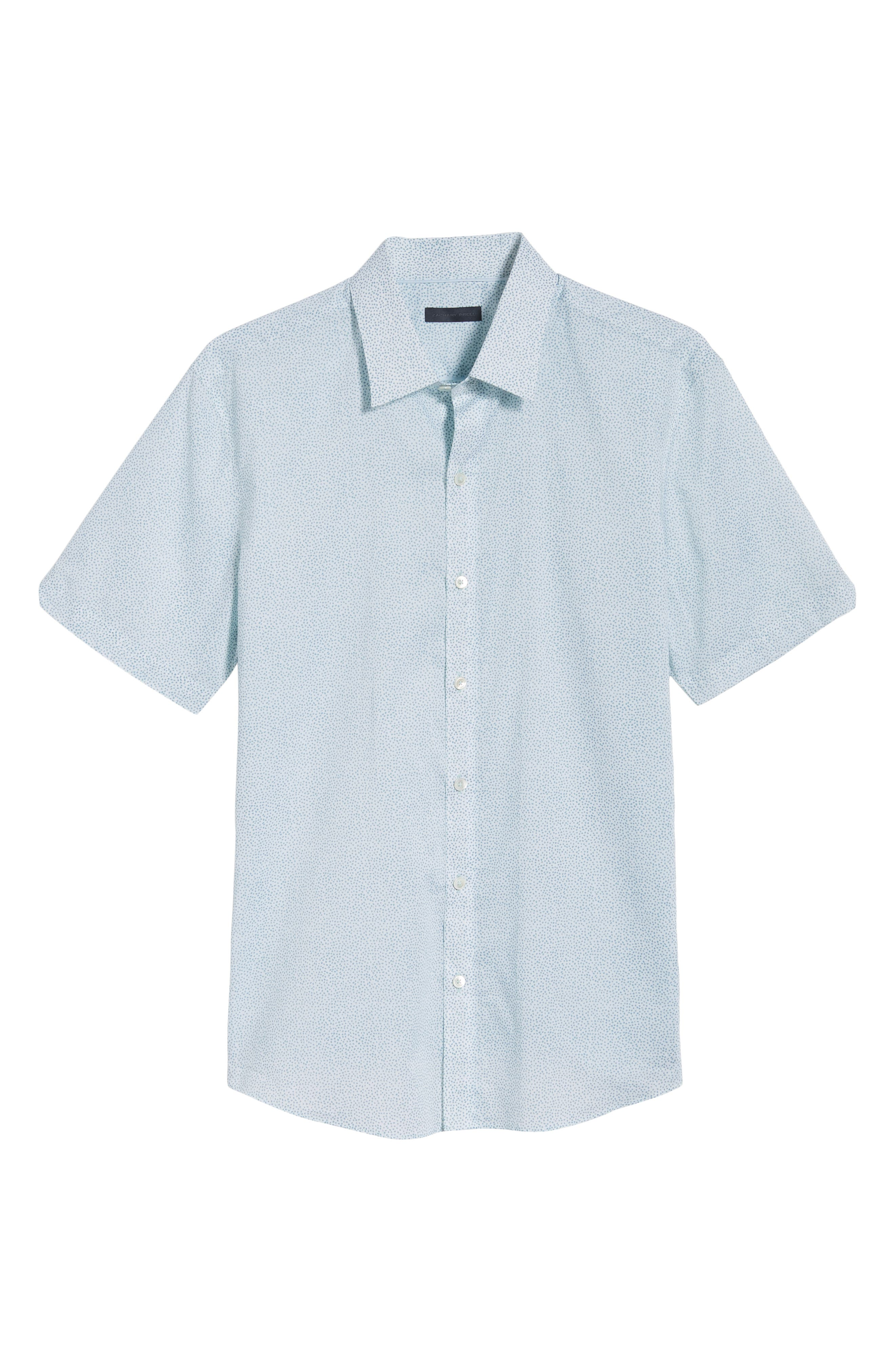 Fung Regular Fit Sport Shirt,                             Alternate thumbnail 6, color,                             WHITE