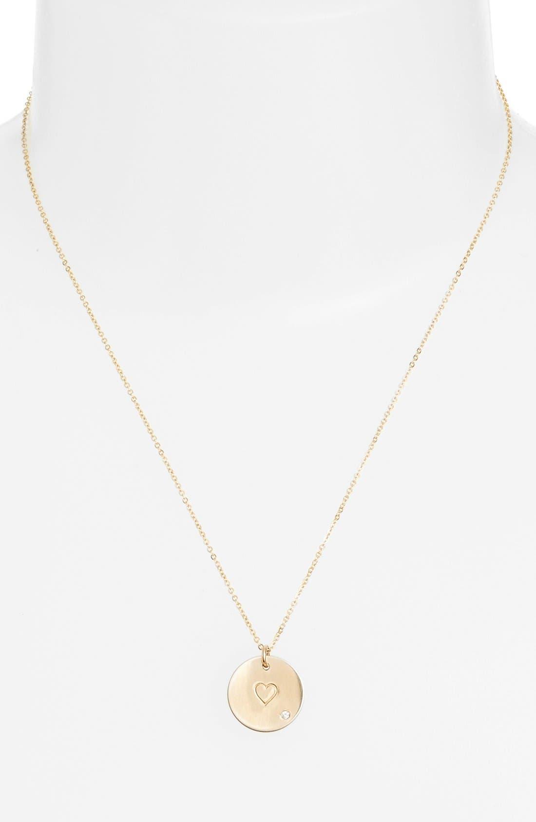 Diamond Pendant Necklace,                             Alternate thumbnail 8, color,