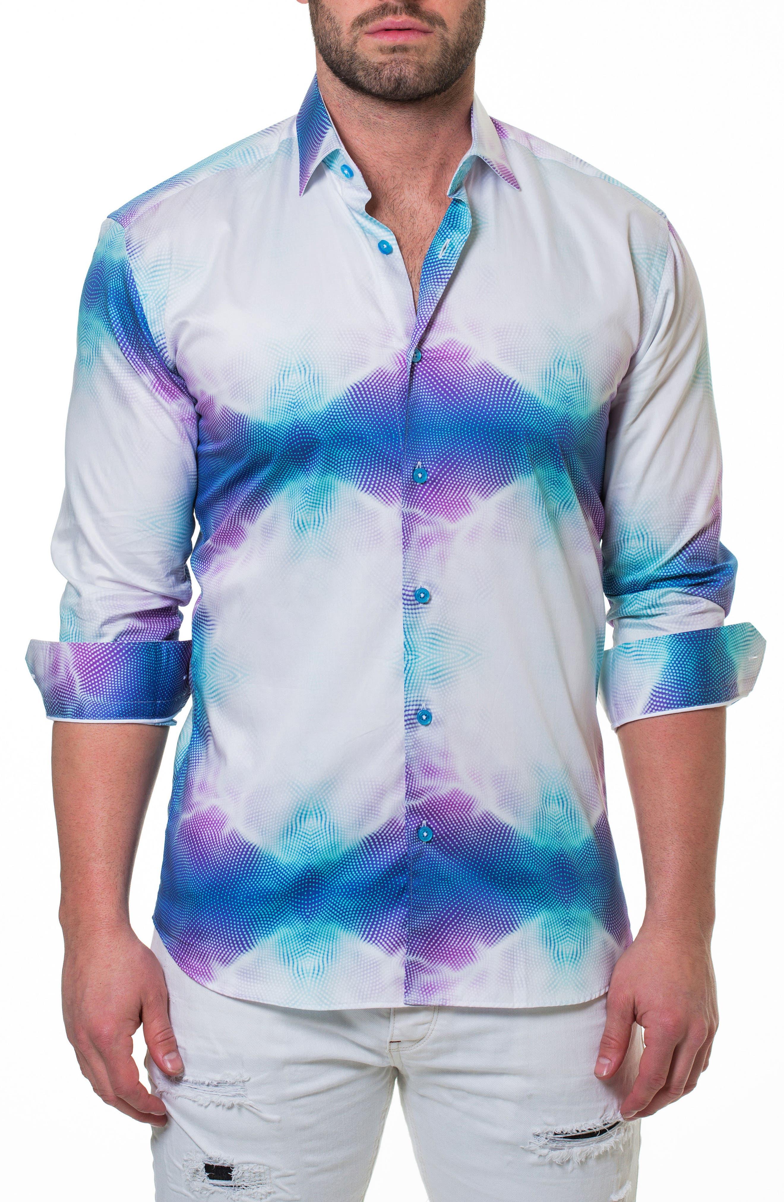 Luxor Invent Slim Fit Sport Shirt,                         Main,                         color, 110