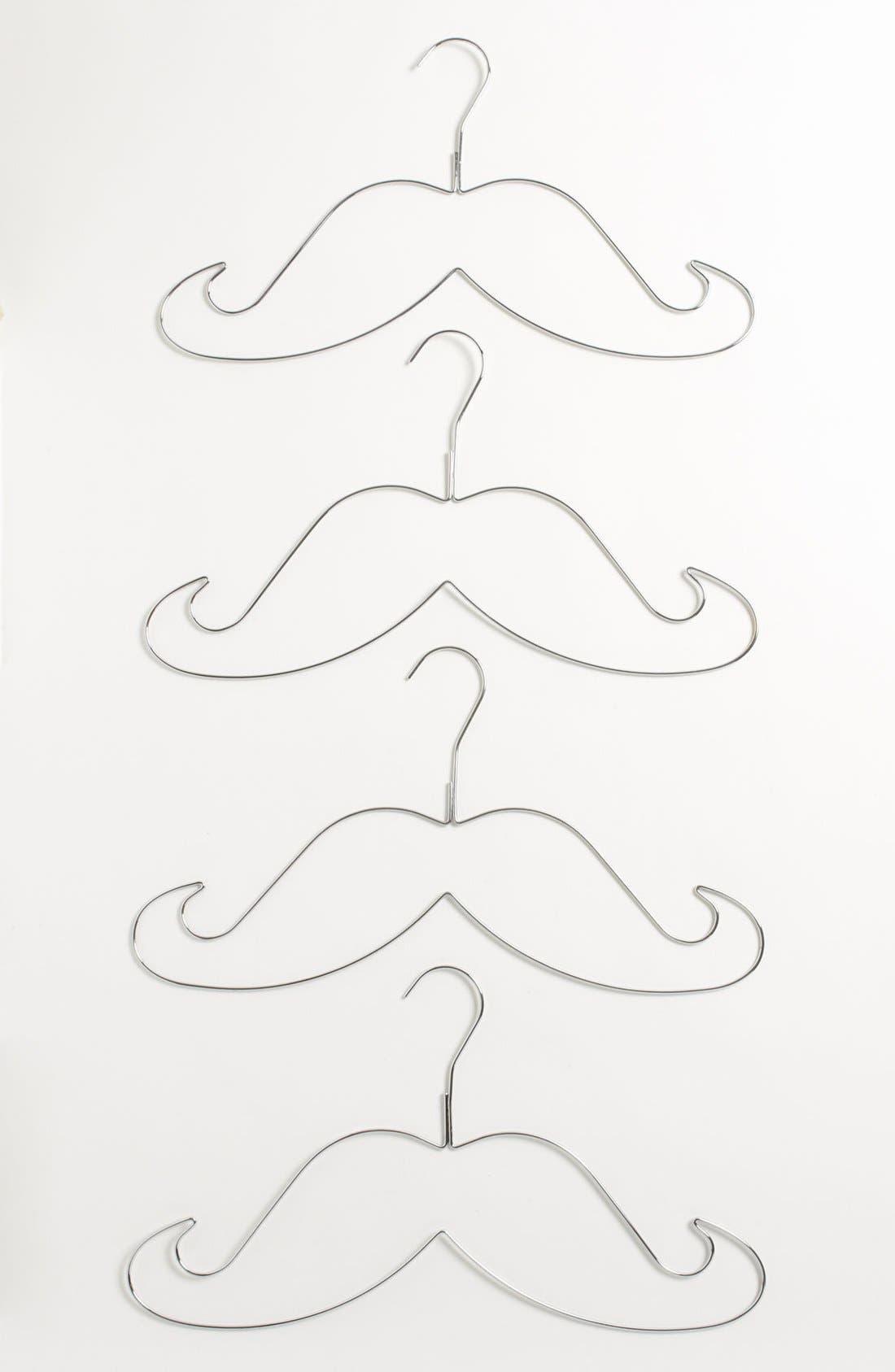 GAMAGO,                             Mustache Shaped Hangers,                             Main thumbnail 1, color,                             040