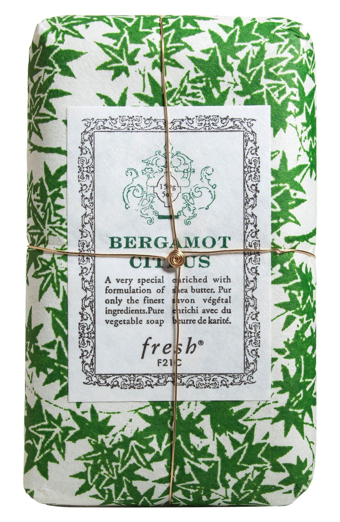 Bergamot Citrus Petit Soap,                             Main thumbnail 1, color,                             000