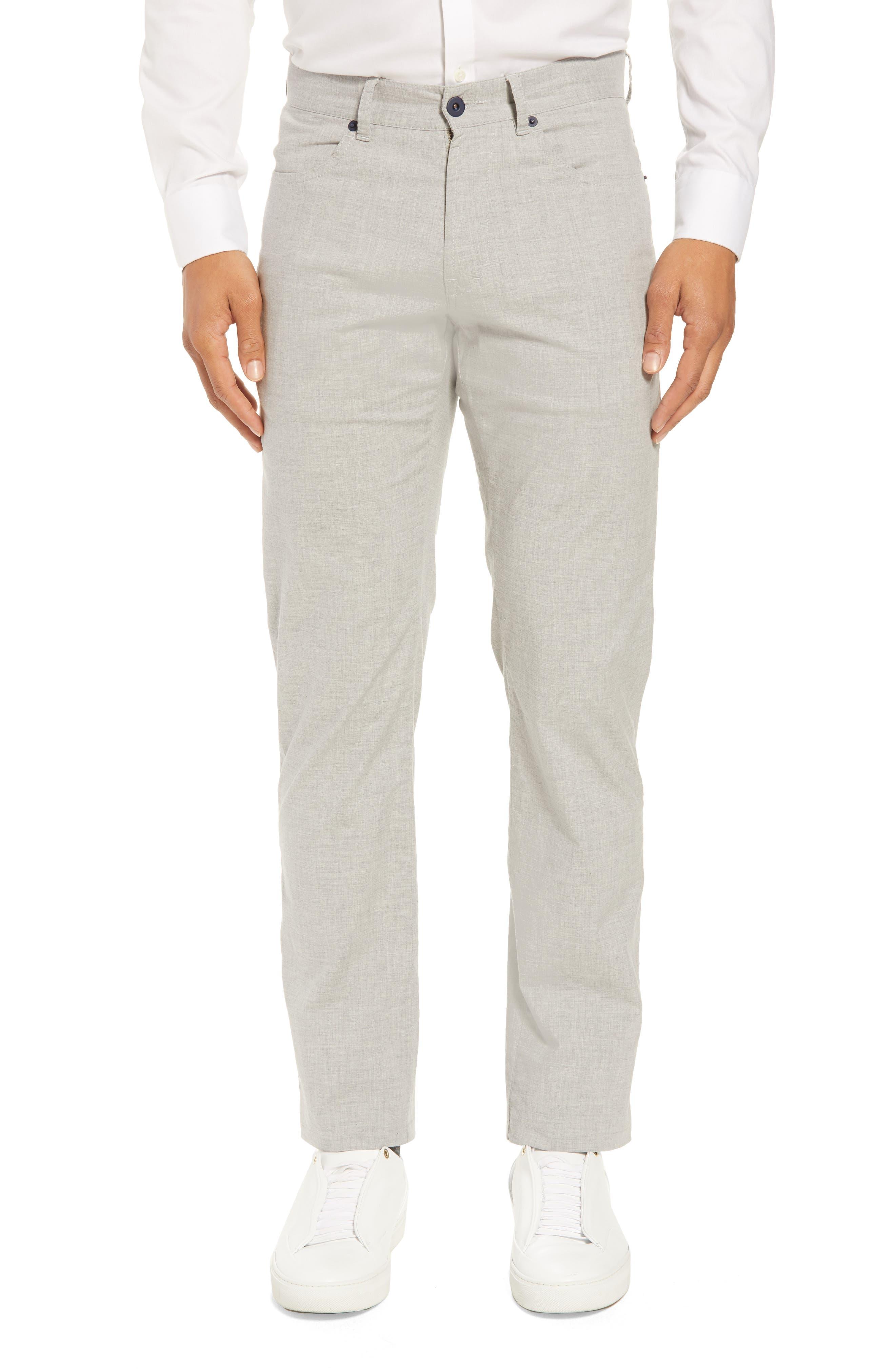 McKinney Regular Fit Straight Leg Pants,                         Main,                         color, GREY