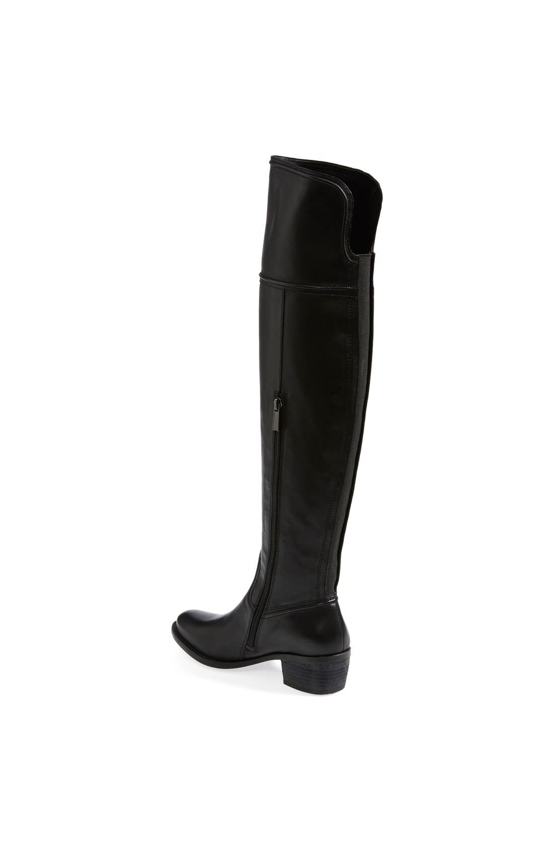 'Baldwin' Over the Knee Boot,                             Alternate thumbnail 4, color,                             001