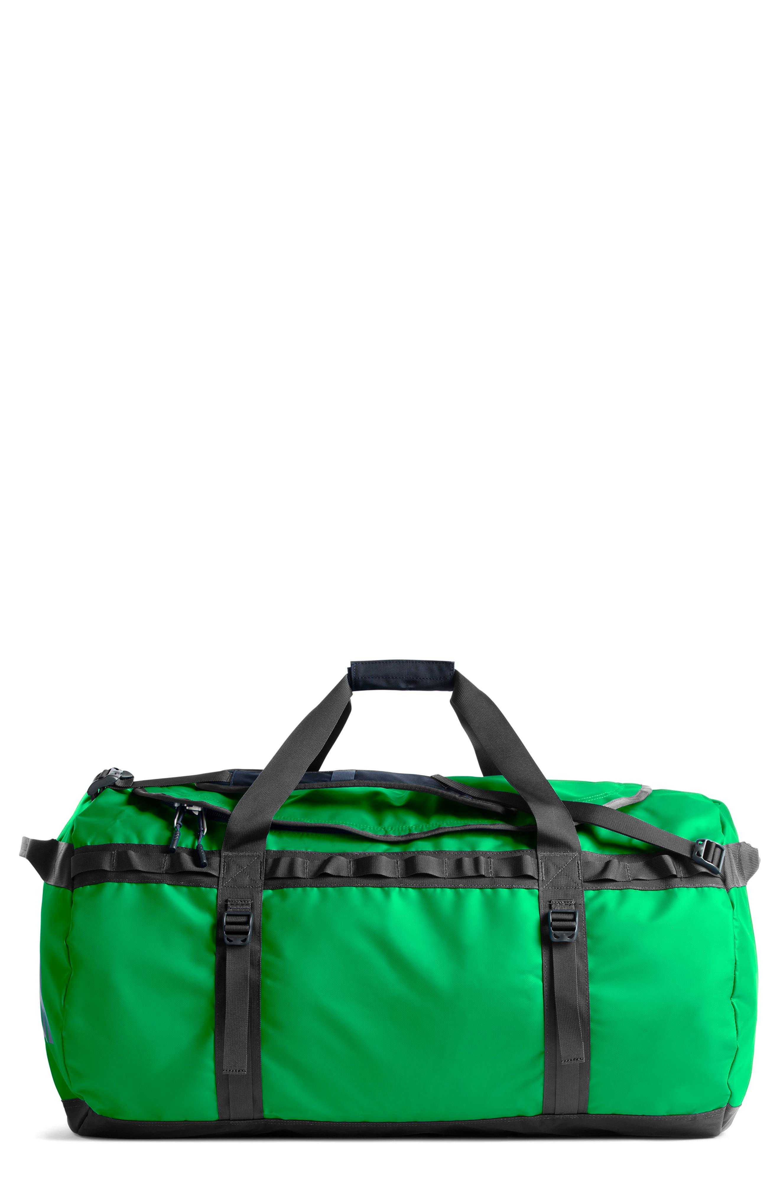 Base Camp XL Duffel Bag,                             Main thumbnail 1, color,                             GREEN/ ASPHALT GREY
