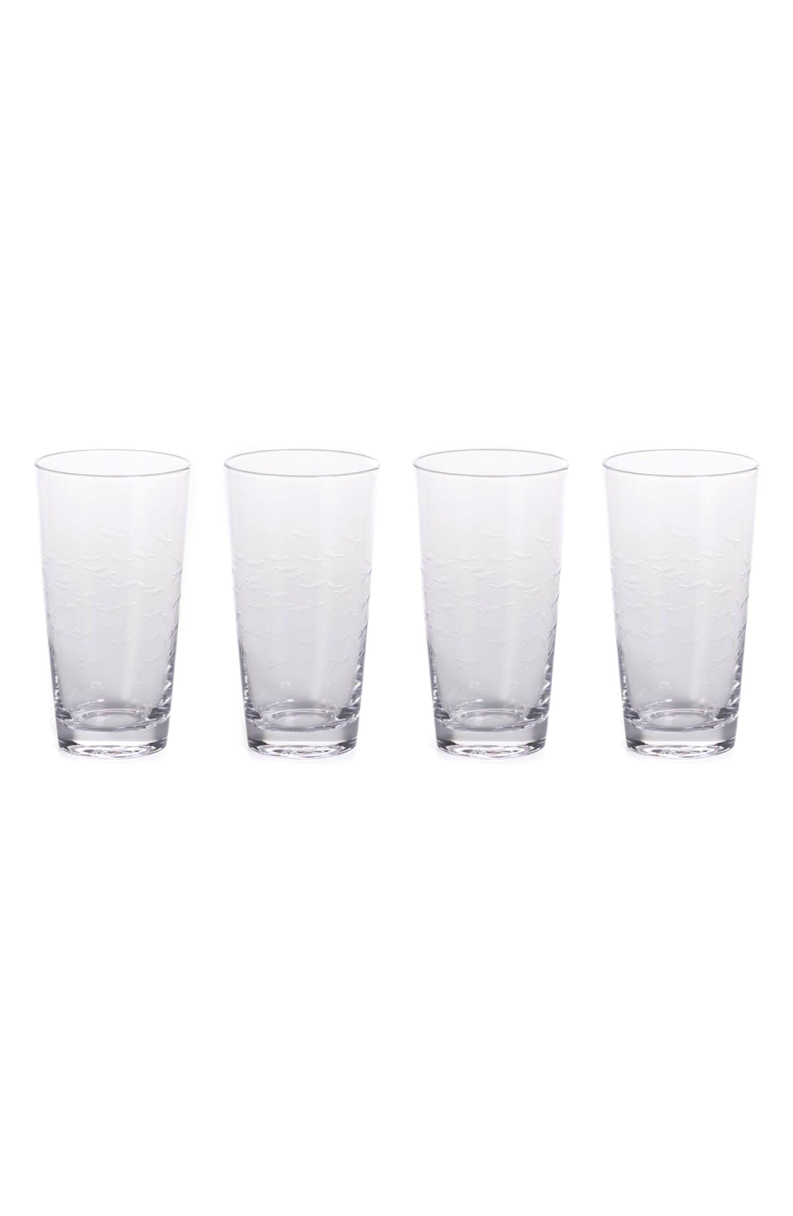 Keely Set of 4 Highball Glasses,                             Main thumbnail 1, color,