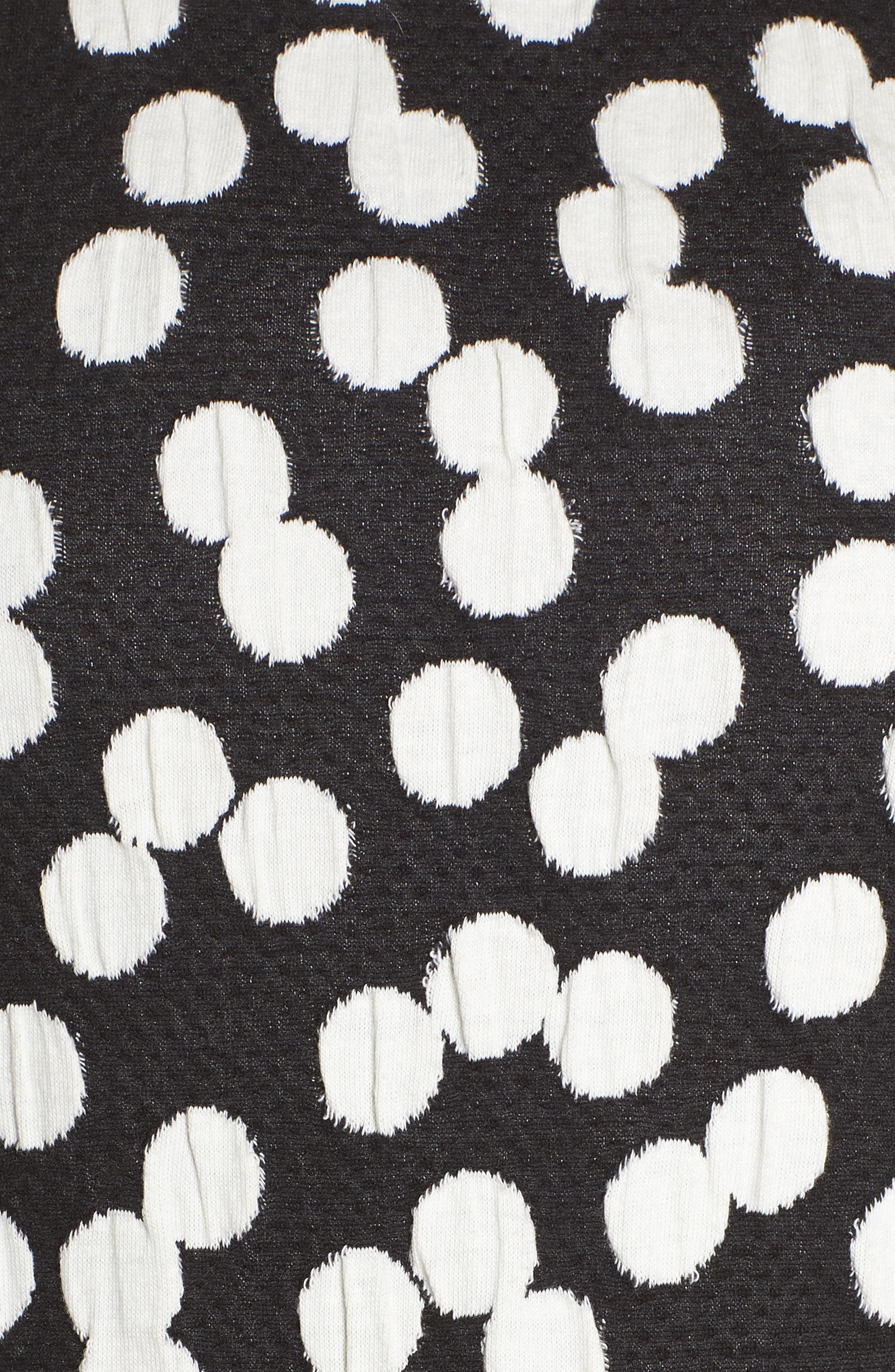 Ava Fit & Flare Dress,                             Alternate thumbnail 6, color,                             001