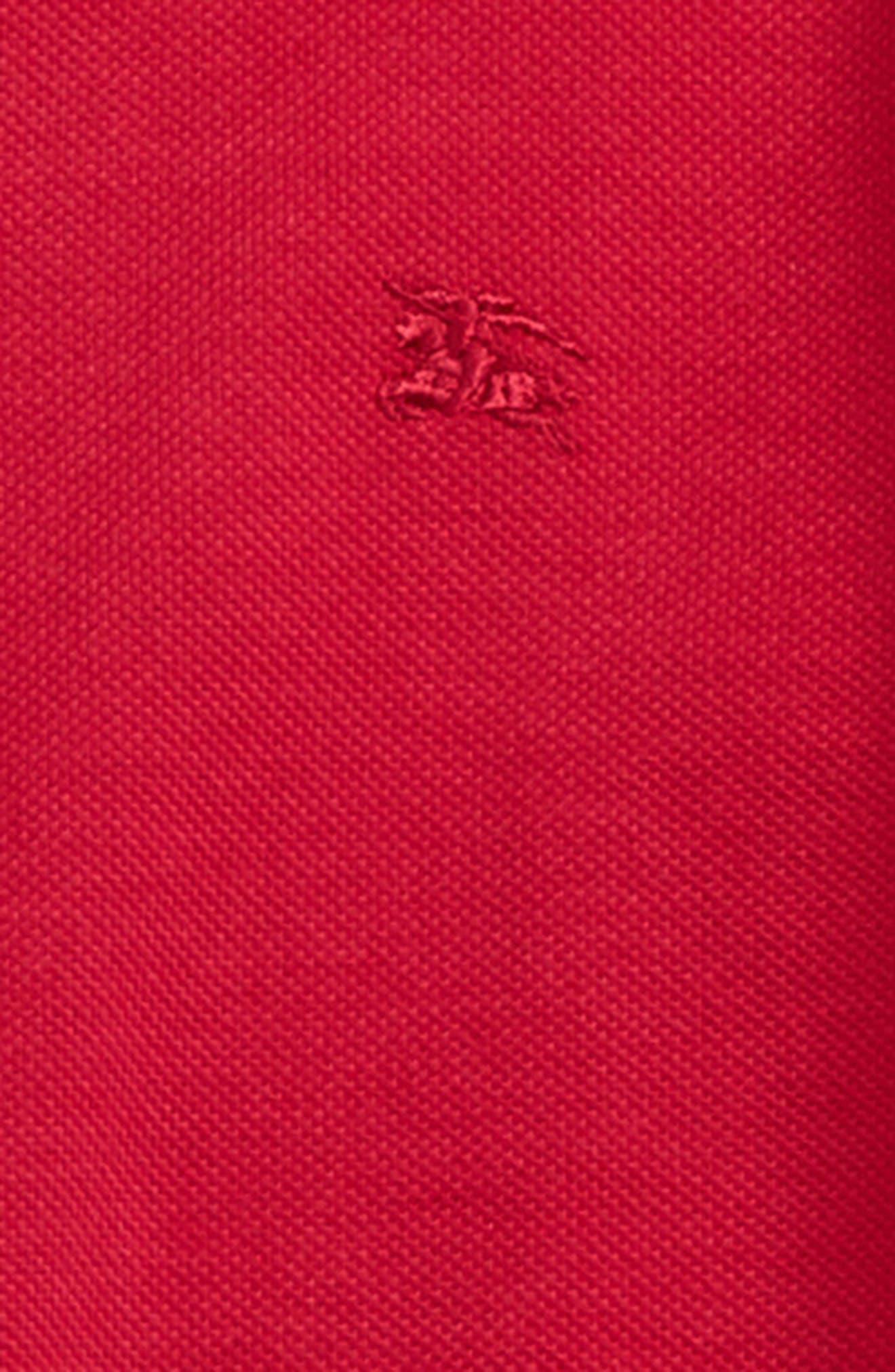 Mini Cotton Piqué Polo,                             Alternate thumbnail 8, color,