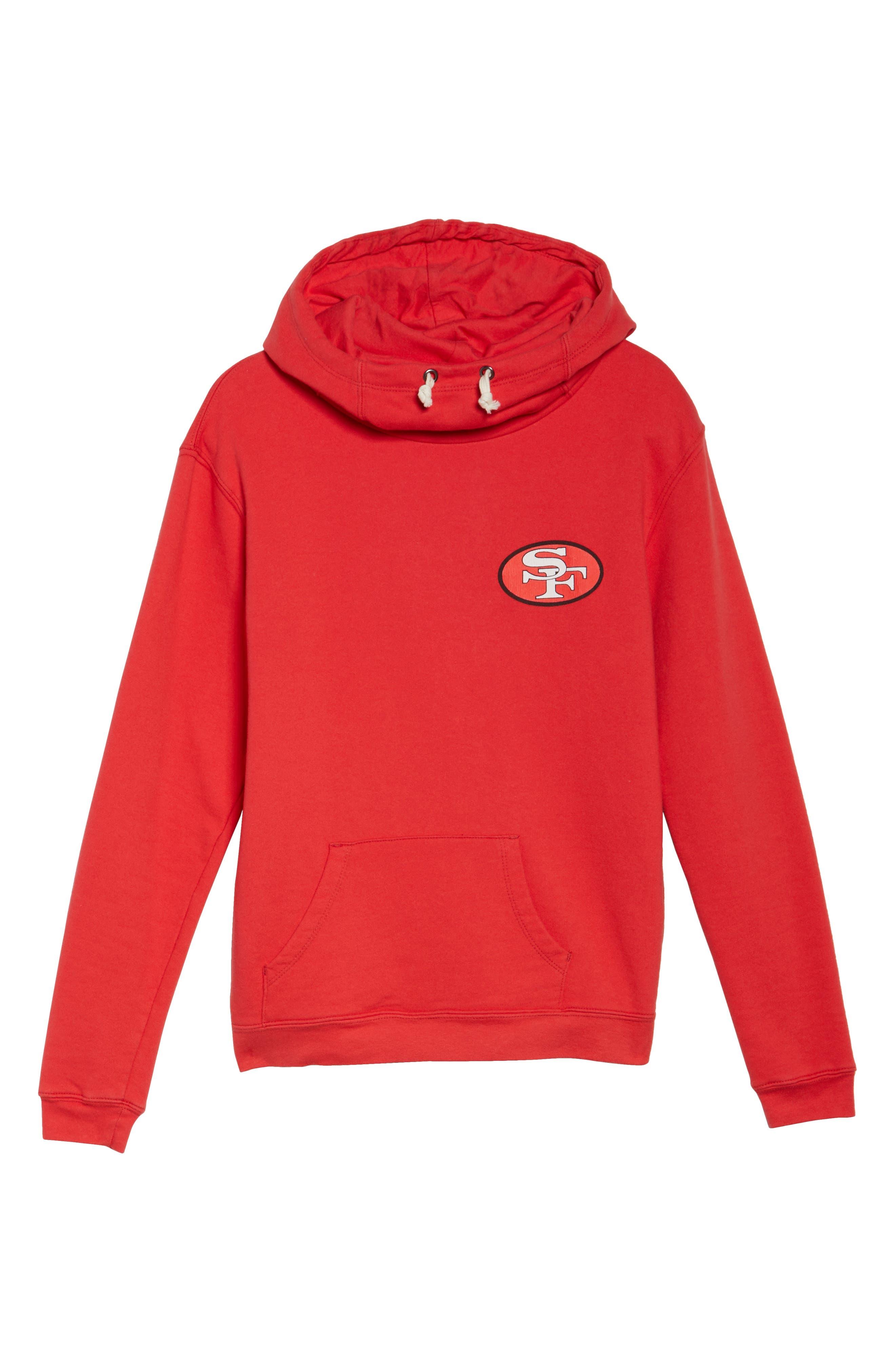 NFL San Francisco 49ers Sunday Hoodie,                             Alternate thumbnail 6, color,                             622