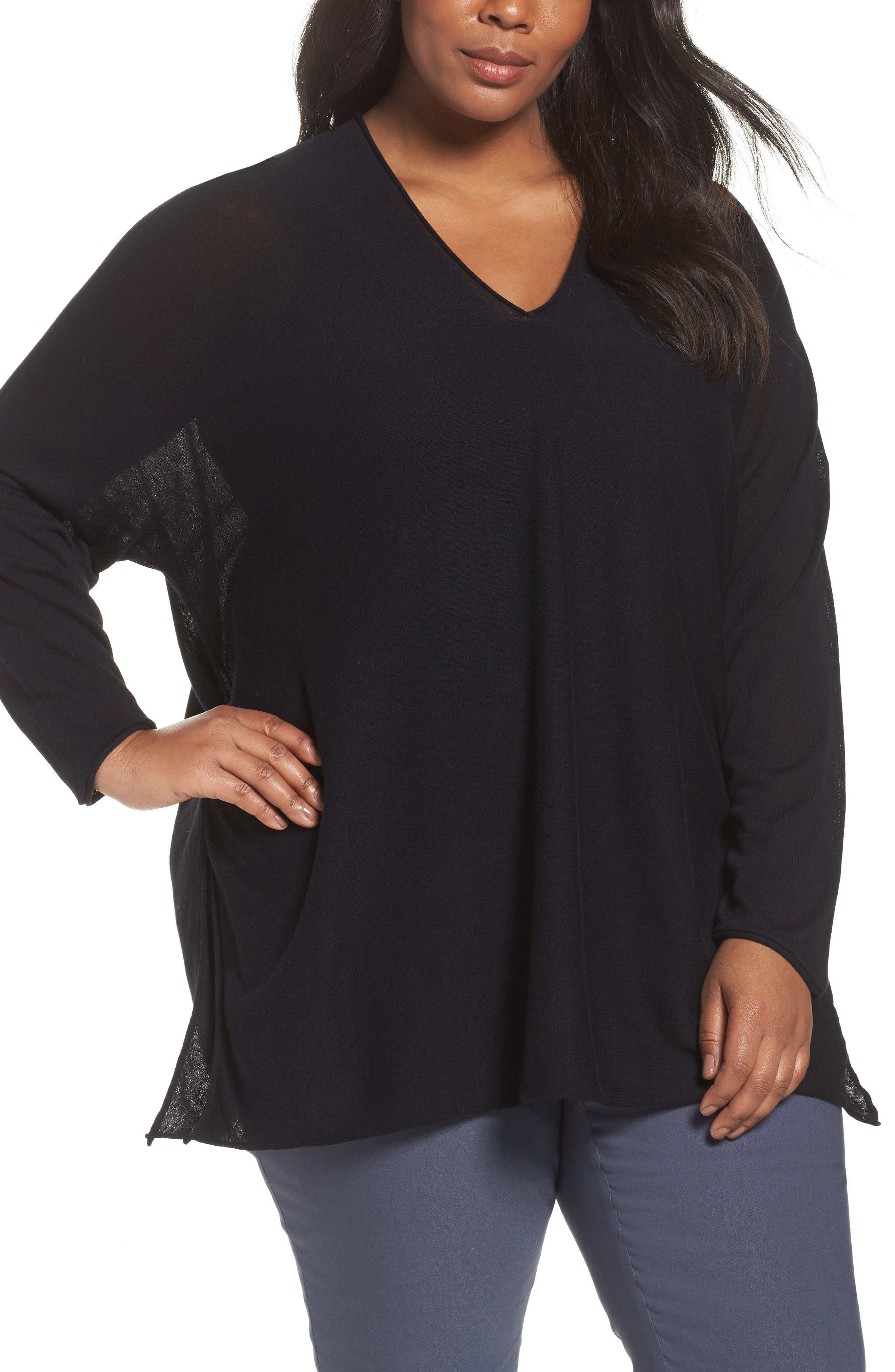 NIC + ZOE Dolman Sleeve Side Tie Top,                             Main thumbnail 1, color,