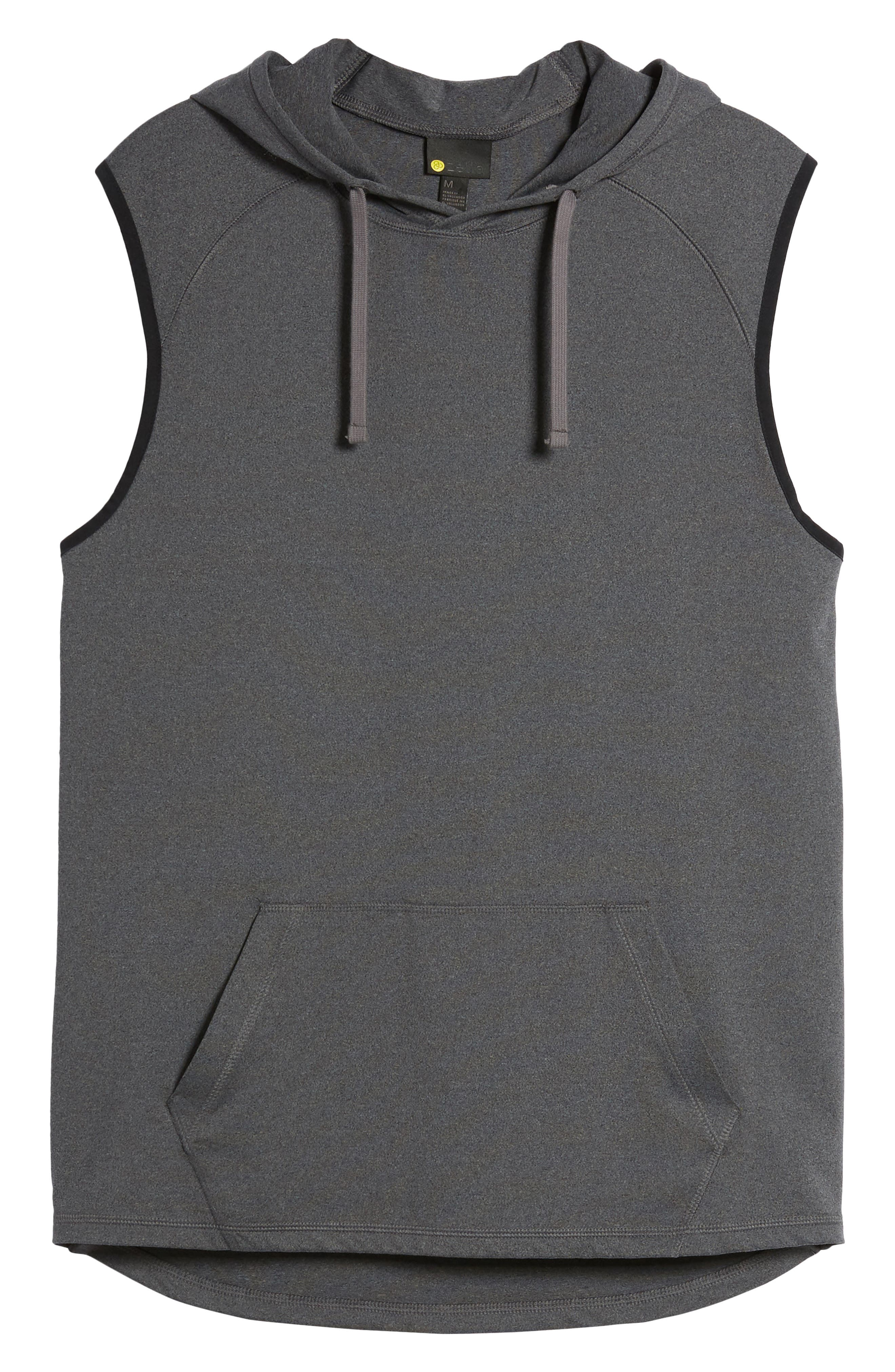 Active Sleeveless Hoodie,                             Alternate thumbnail 6, color,                             021