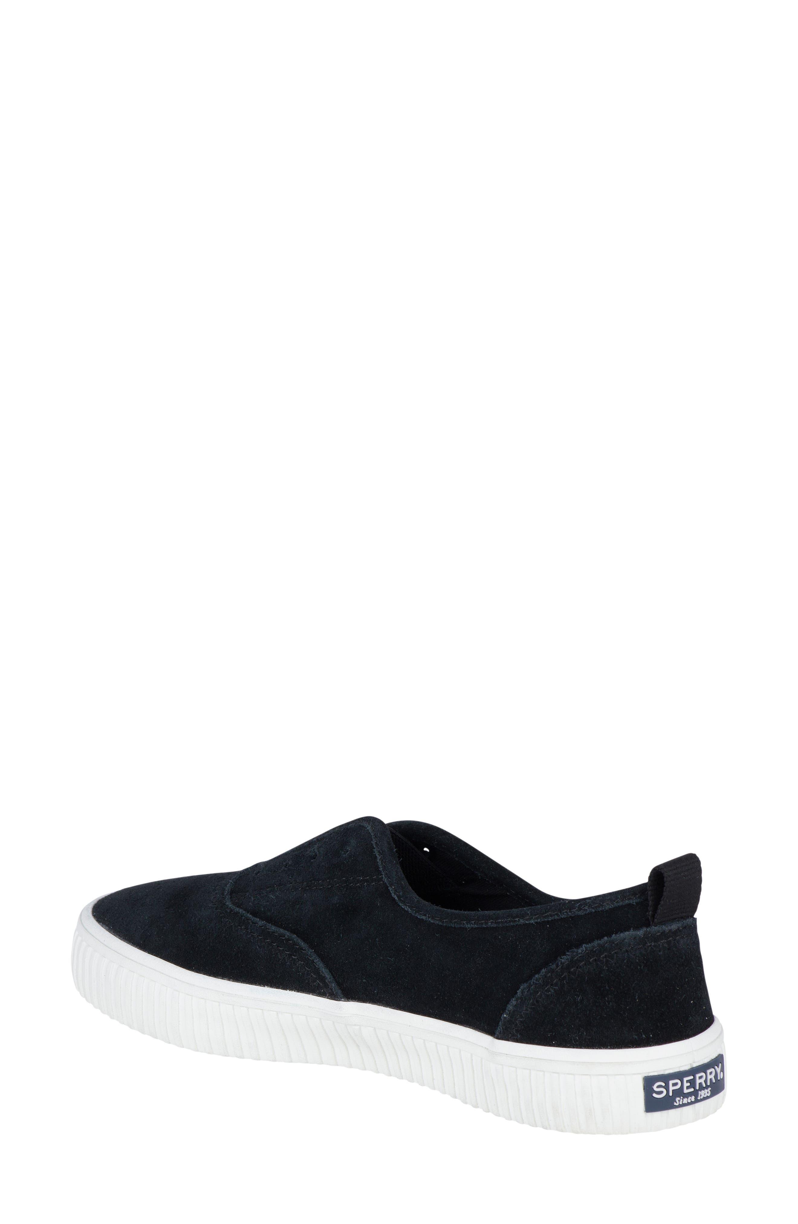 Crest Creeper Slip-On Sneaker,                             Alternate thumbnail 2, color,                             001