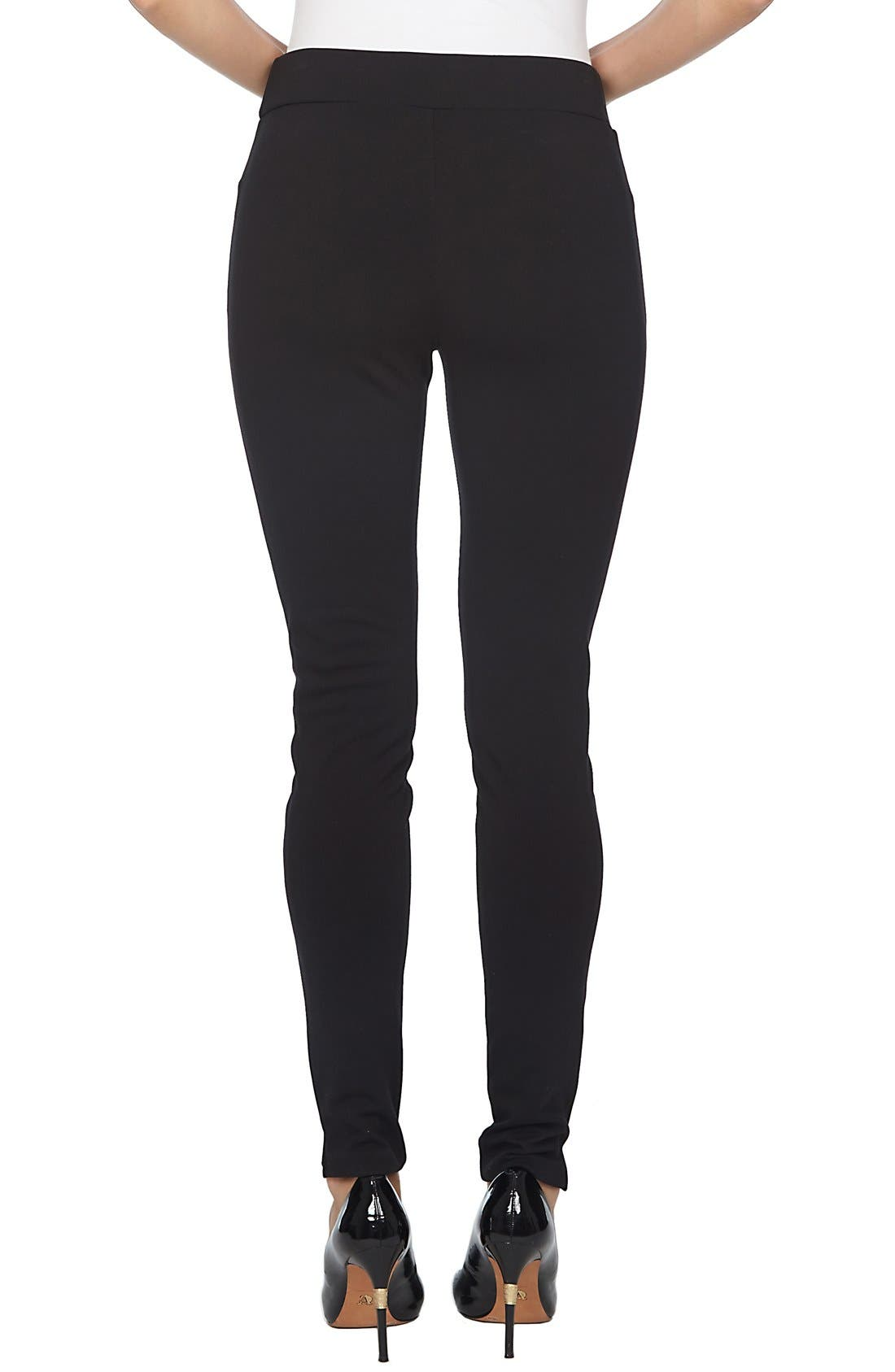 Ponte Knit Leggings,                             Alternate thumbnail 6, color,
