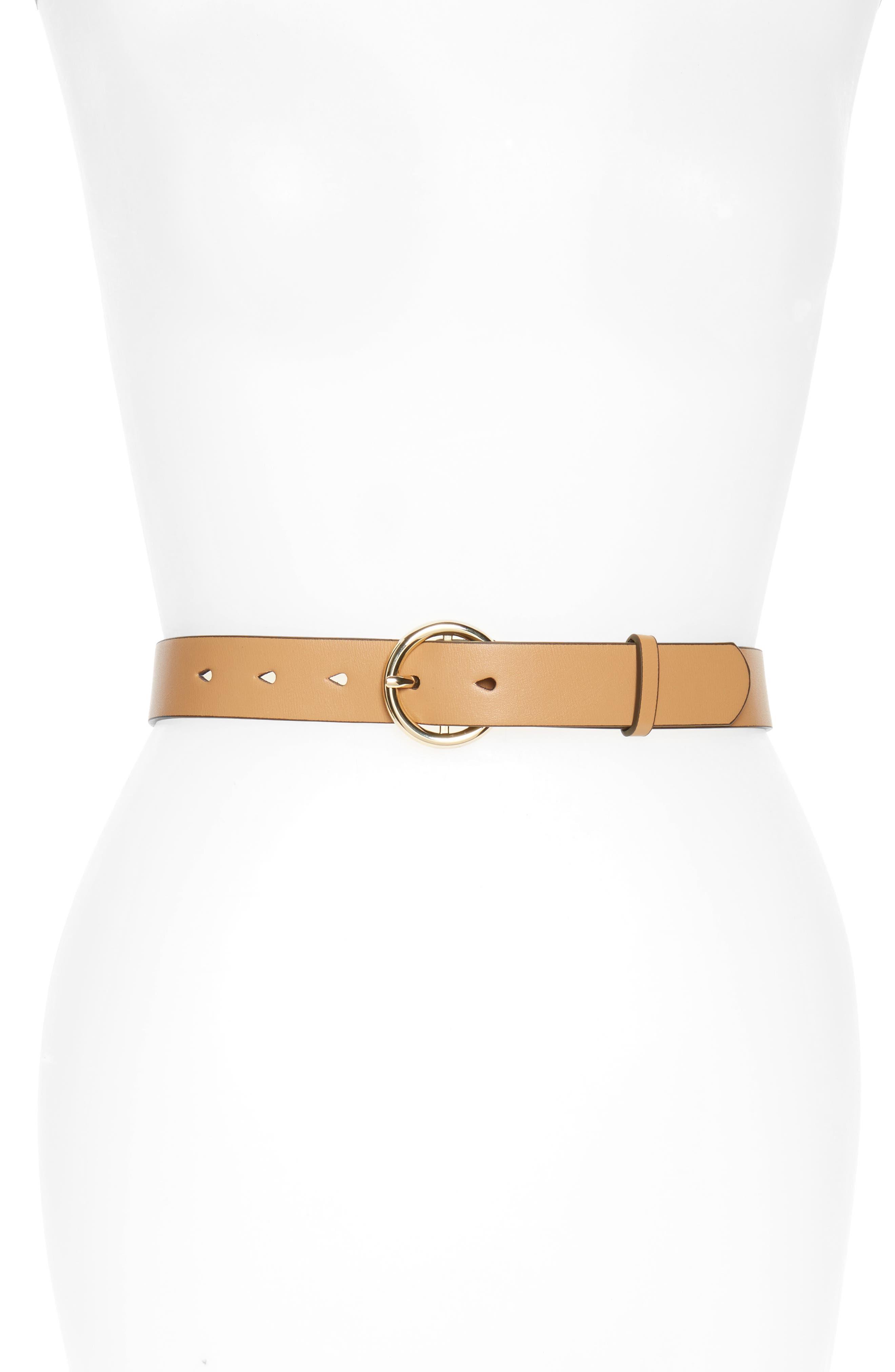 Faux Leather Belt,                             Main thumbnail 3, color,