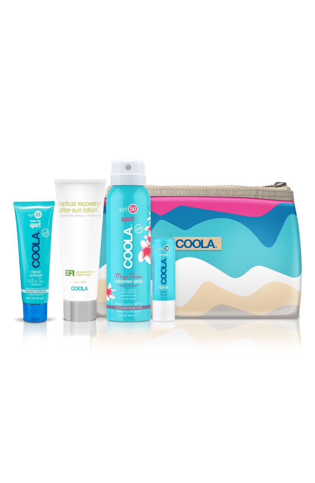 COOLA<sup>®</sup> Suncare Sport Essential Travel Set,                             Main thumbnail 1, color,                             NO COLOR