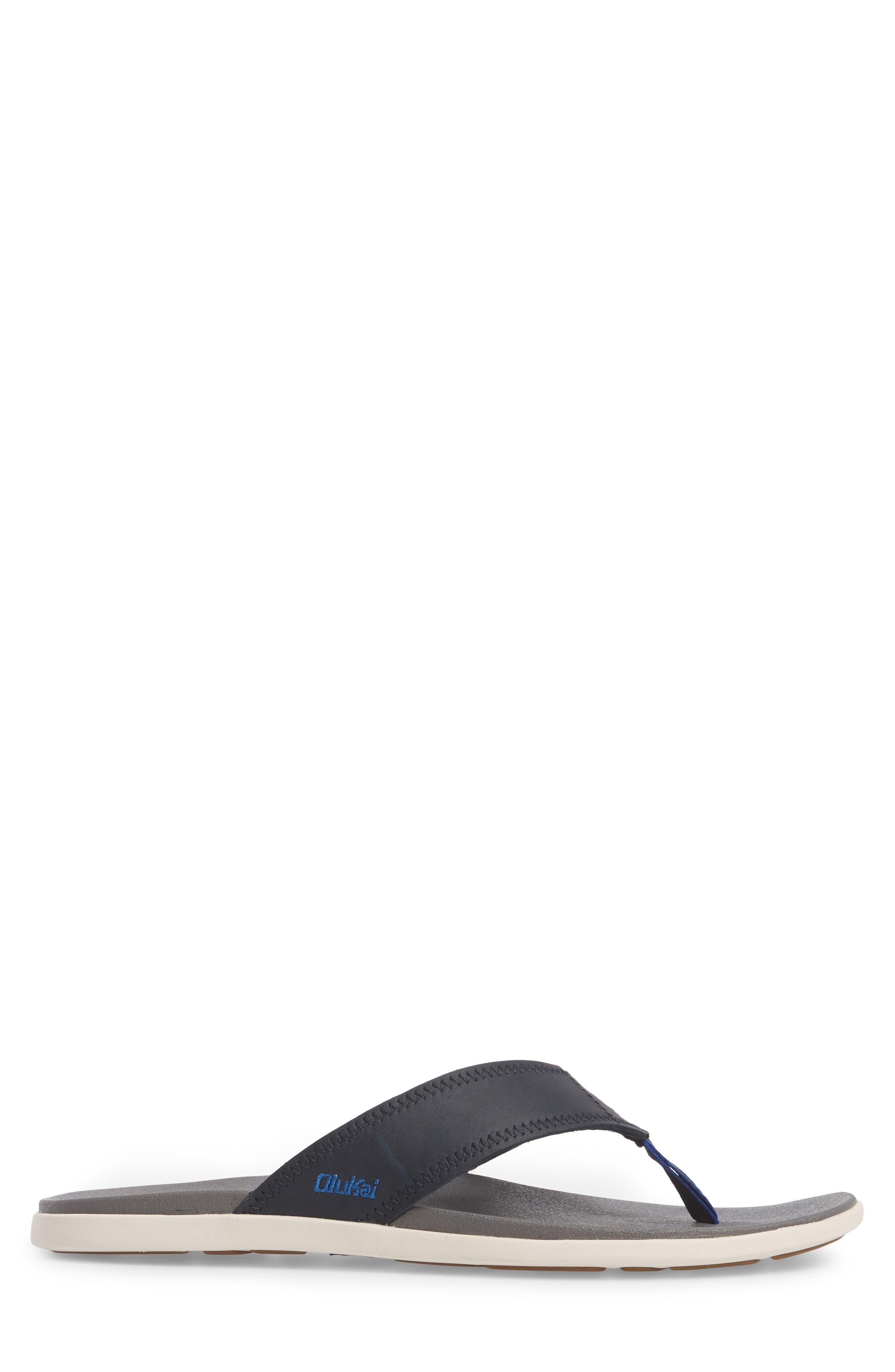 OLUKAI,                             Kinona Flip Flop,                             Alternate thumbnail 3, color,                             420