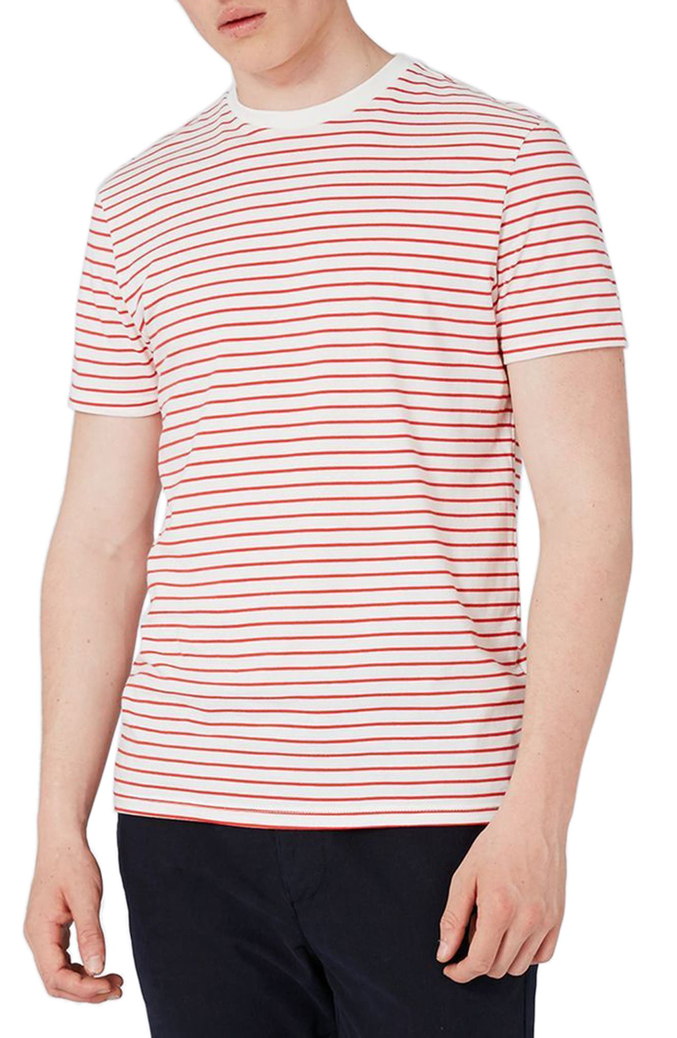 Stripe T-Shirt,                             Main thumbnail 1, color,                             600