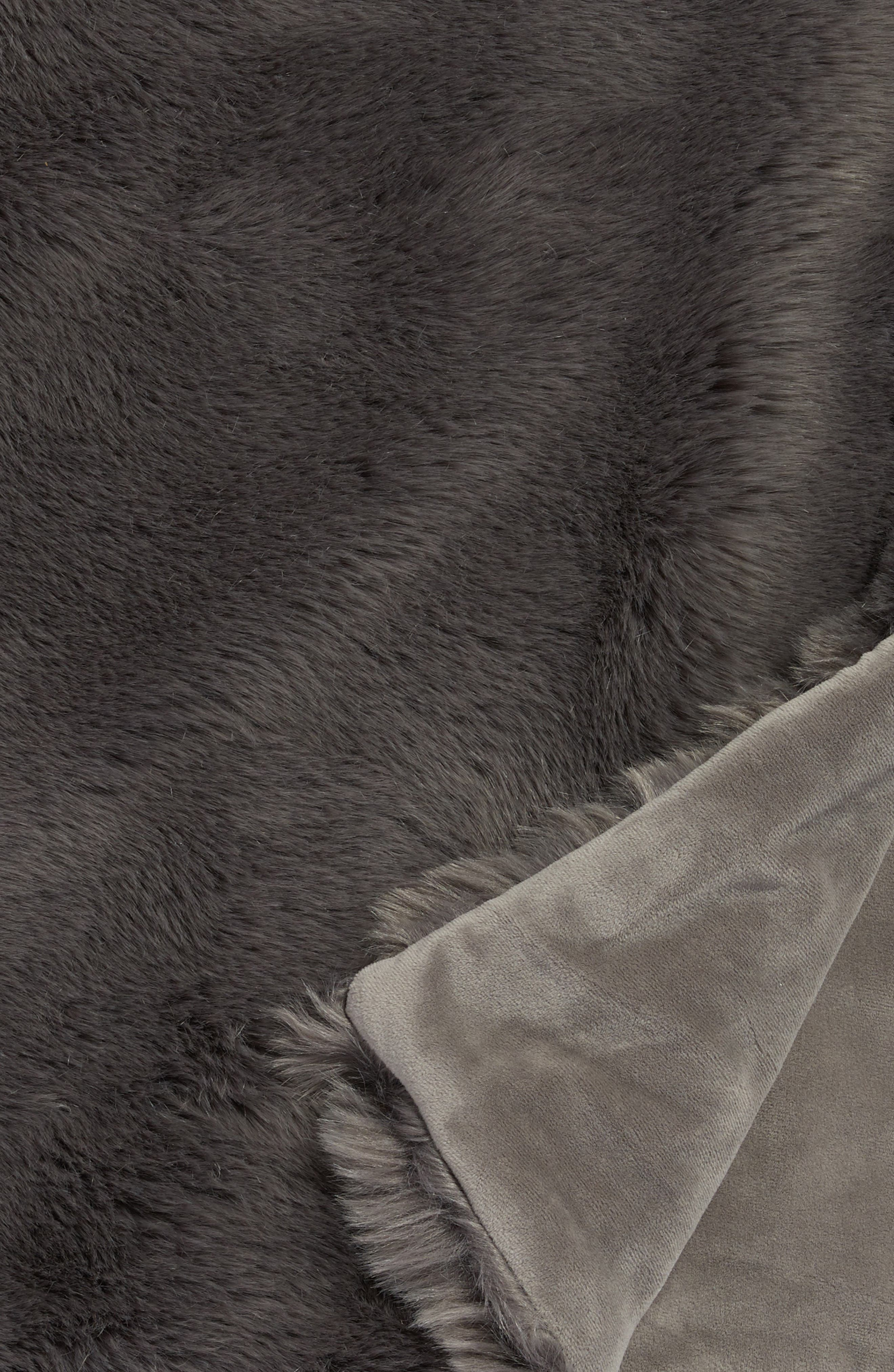 Cuddle Up Faux Fur Throw Blanket,                             Alternate thumbnail 30, color,