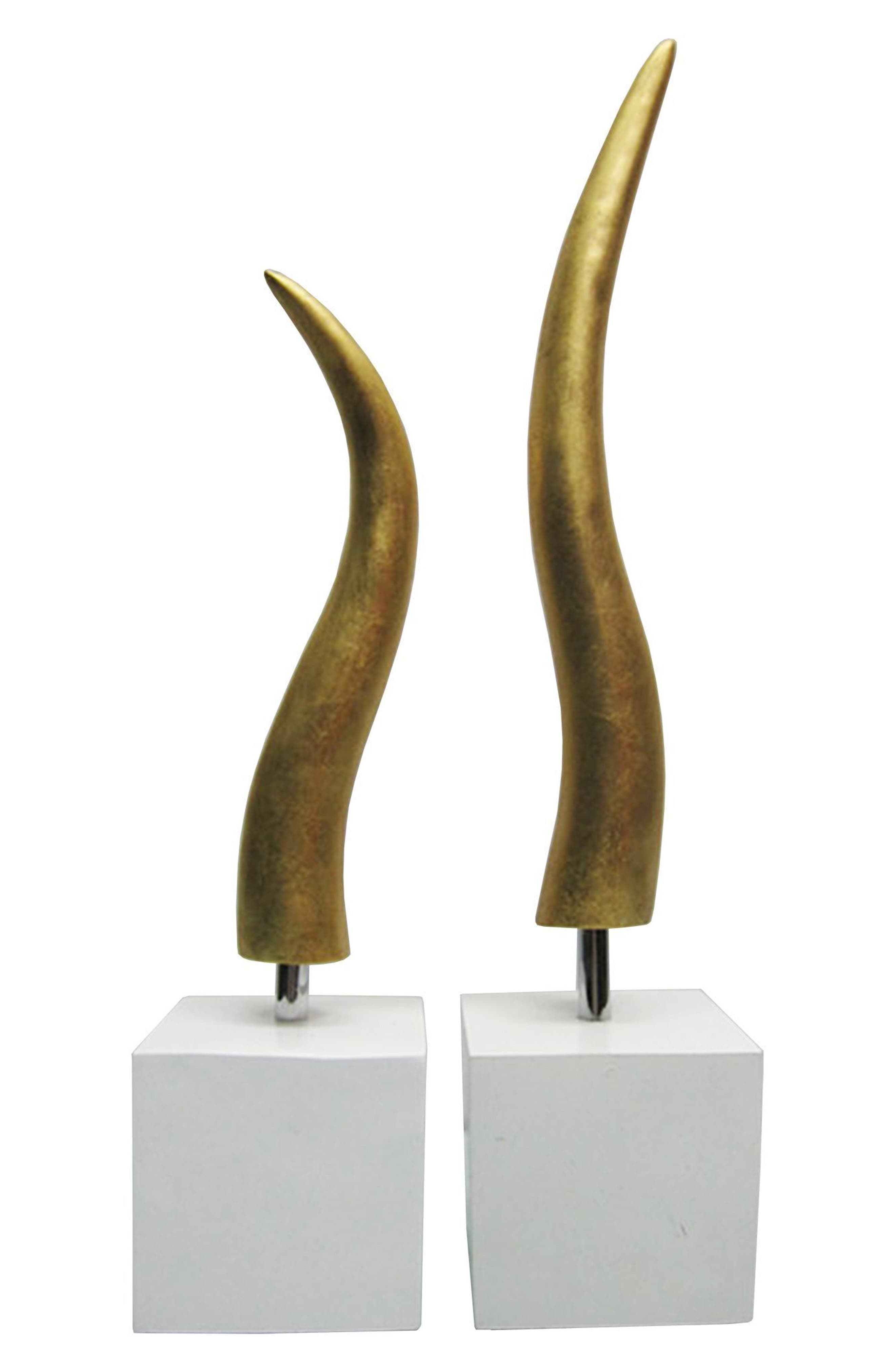 Osage Set of Two Statues,                         Main,                         color, 710