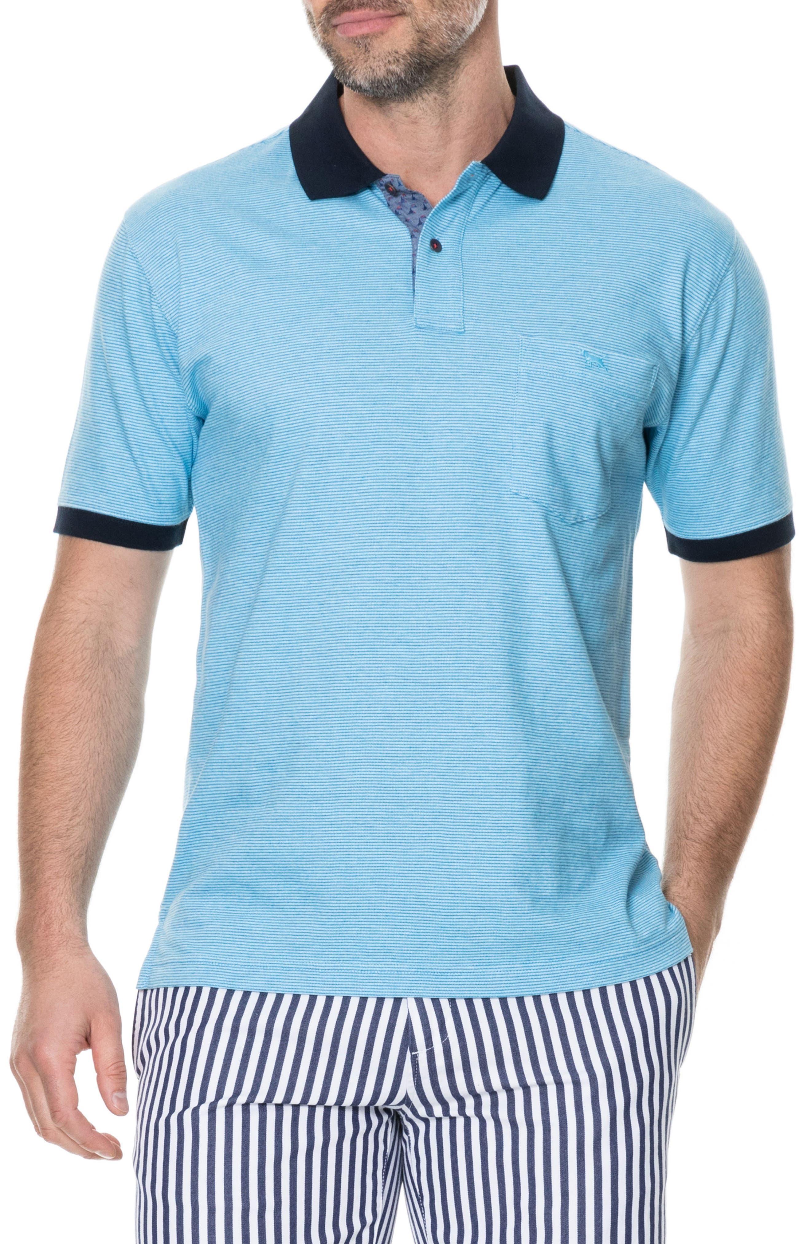 Sedgebrook Regular Fit Polo,                             Main thumbnail 1, color,                             AQUA