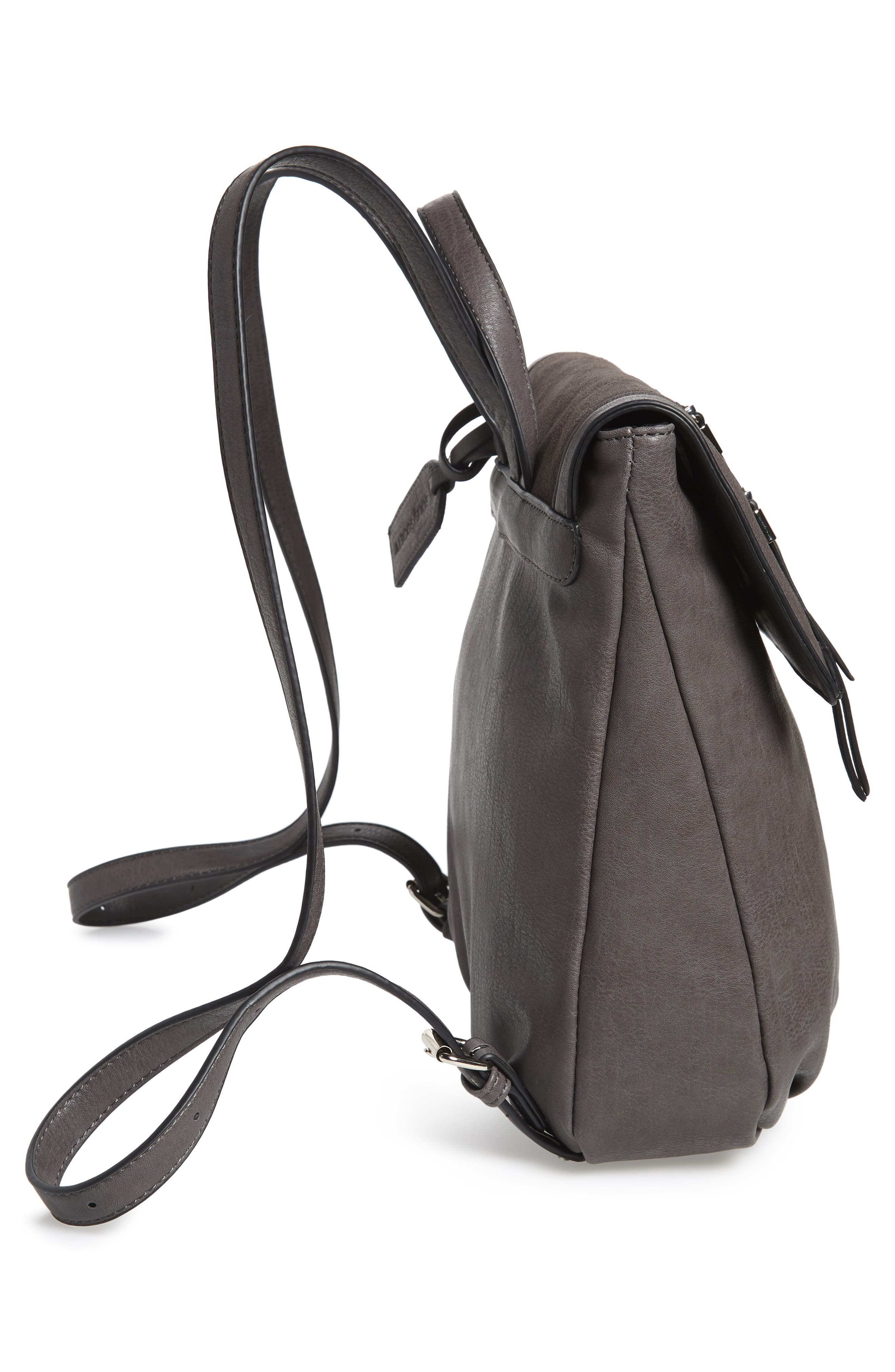 Chele Backpack,                             Alternate thumbnail 5, color,                             DARK GREY